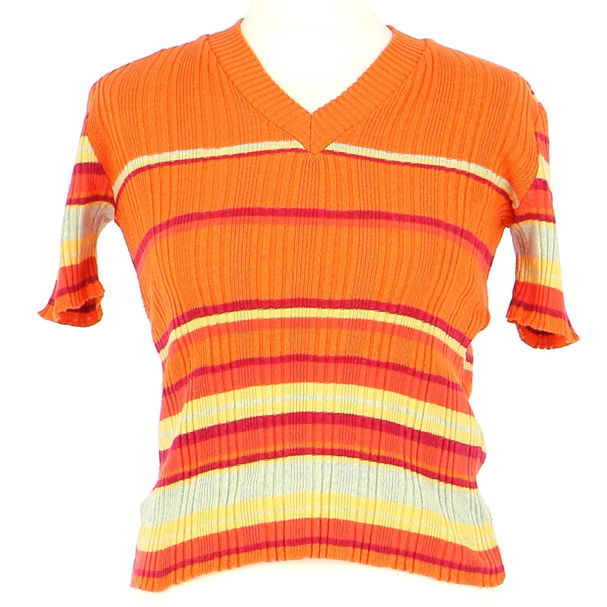 Top, tee-shirt KOOKAI Orange