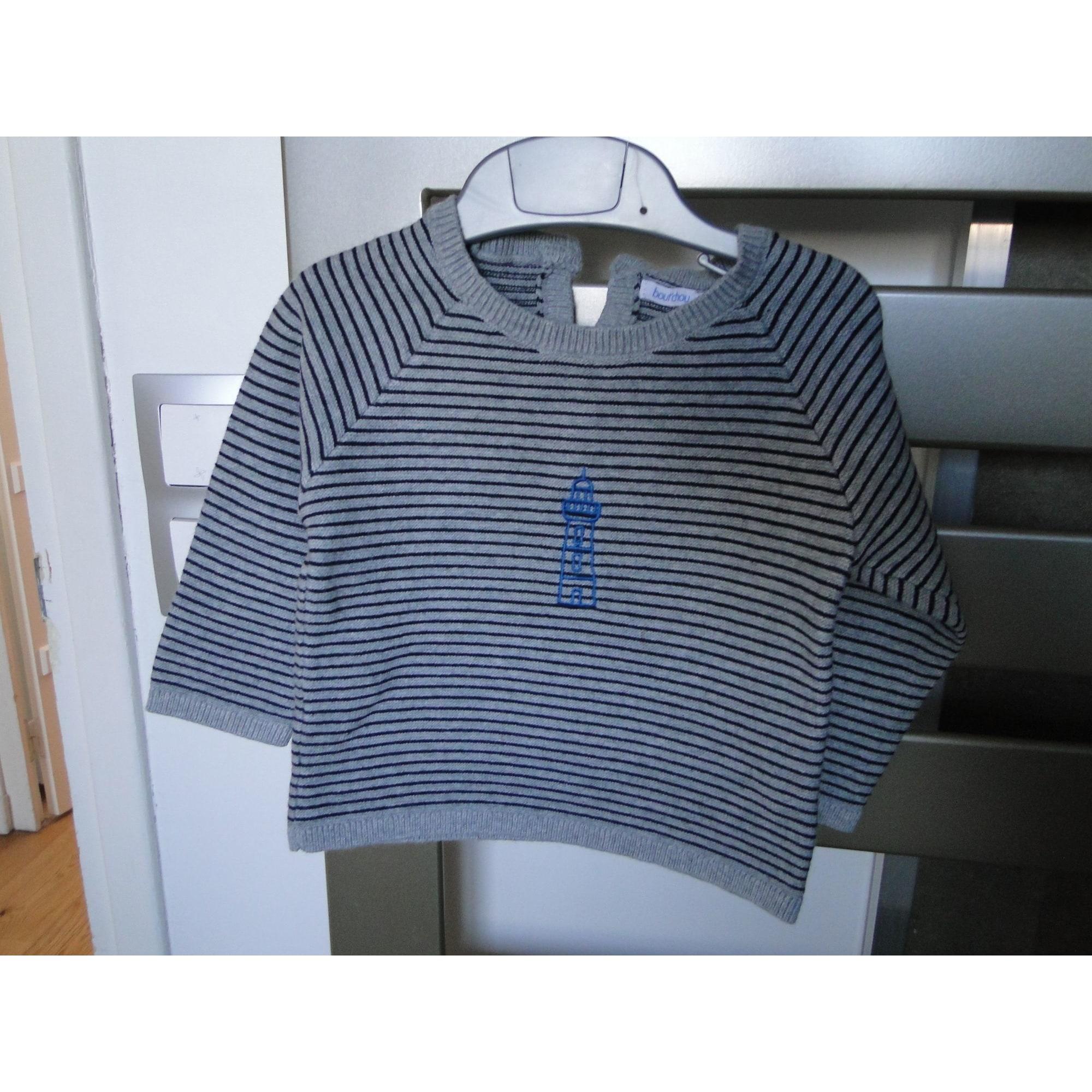 Sweater BOUT'CHOU Gray, charcoal