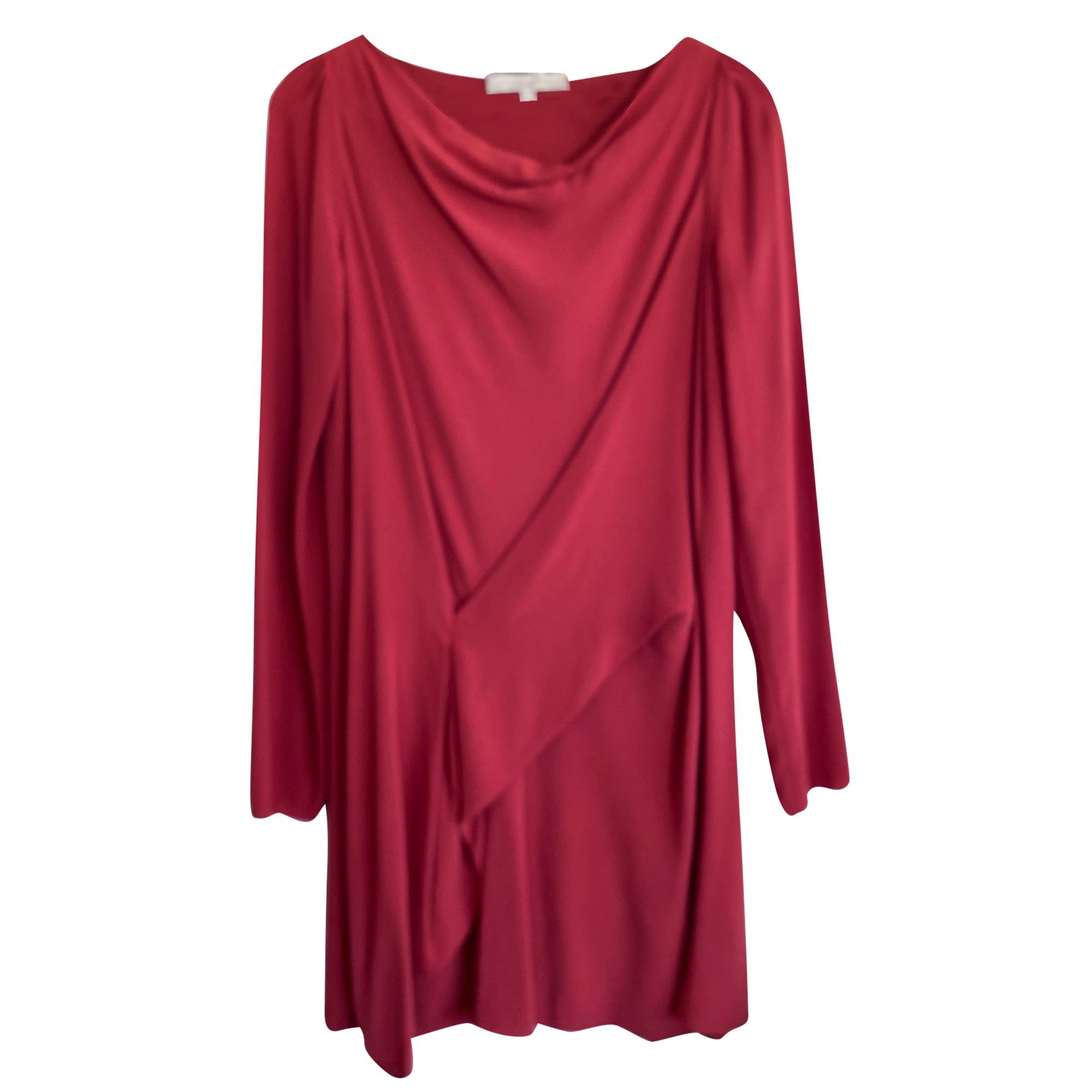 Robe courte VANESSA BRUNO Rouge, bordeaux