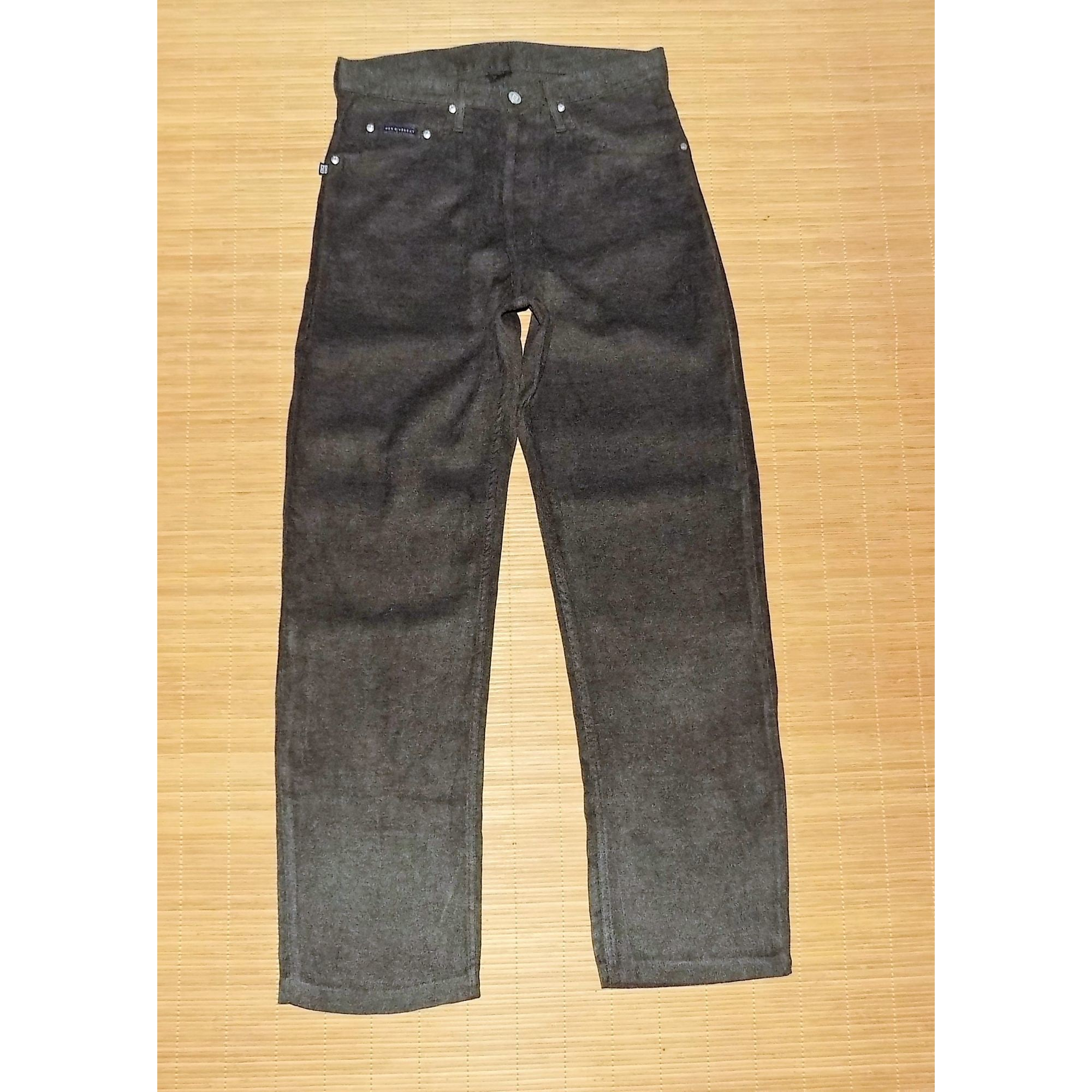 Pantalon droit GIVENCHY Gris, anthracite