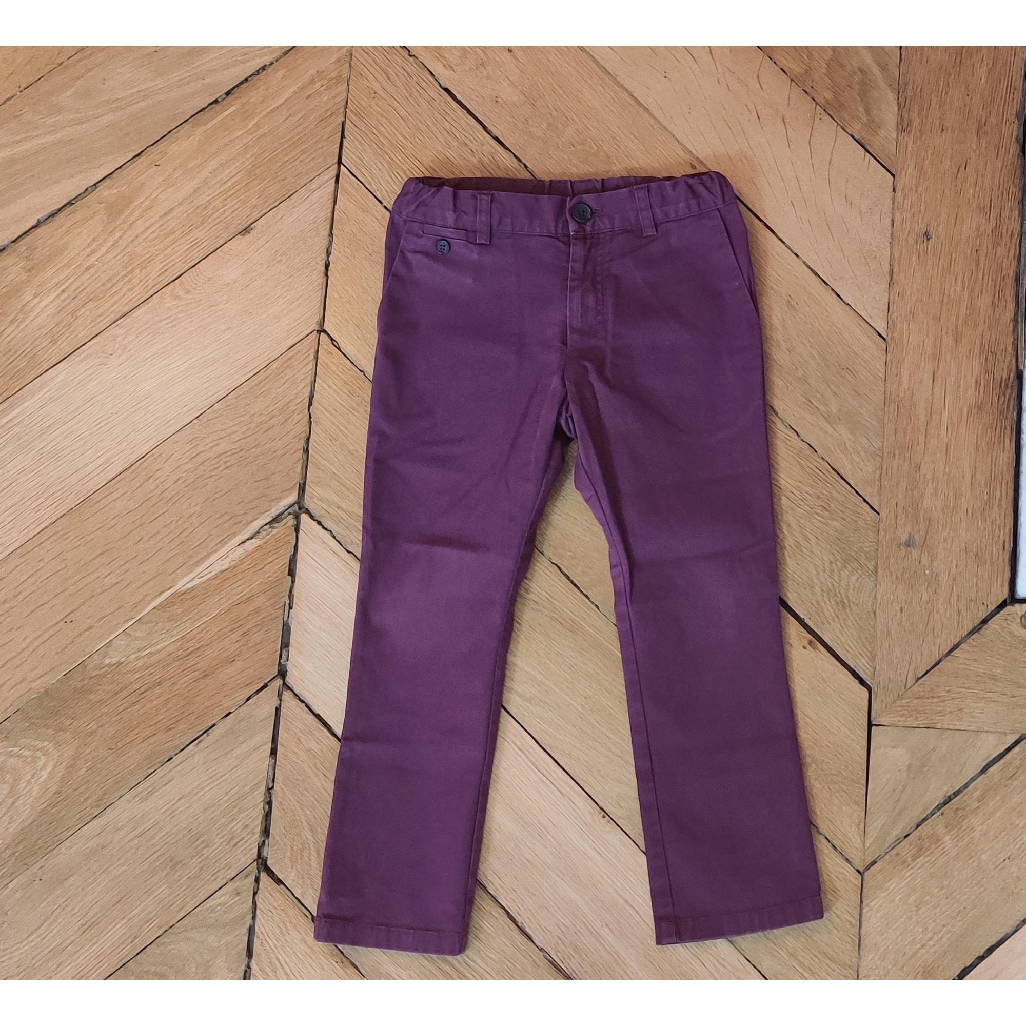 Pants BABY DIOR Purple, mauve, lavender