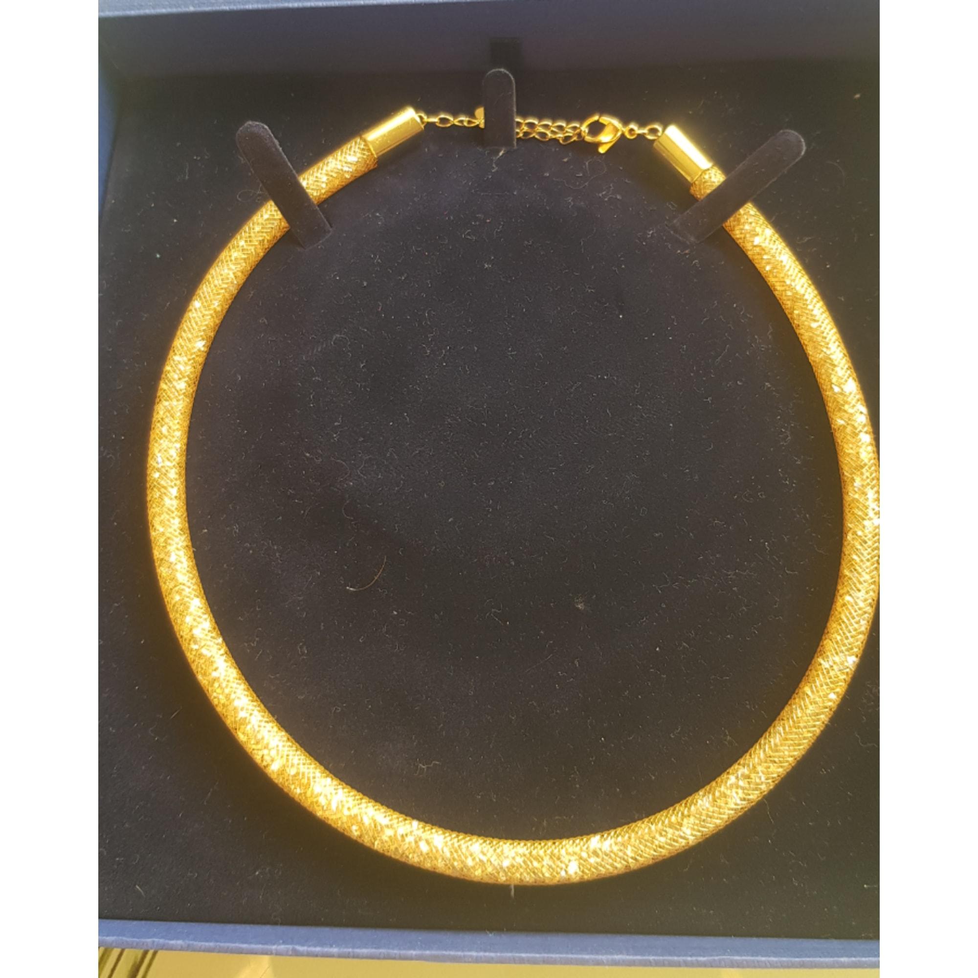 Collier SWAROVSKI Doré, bronze, cuivre