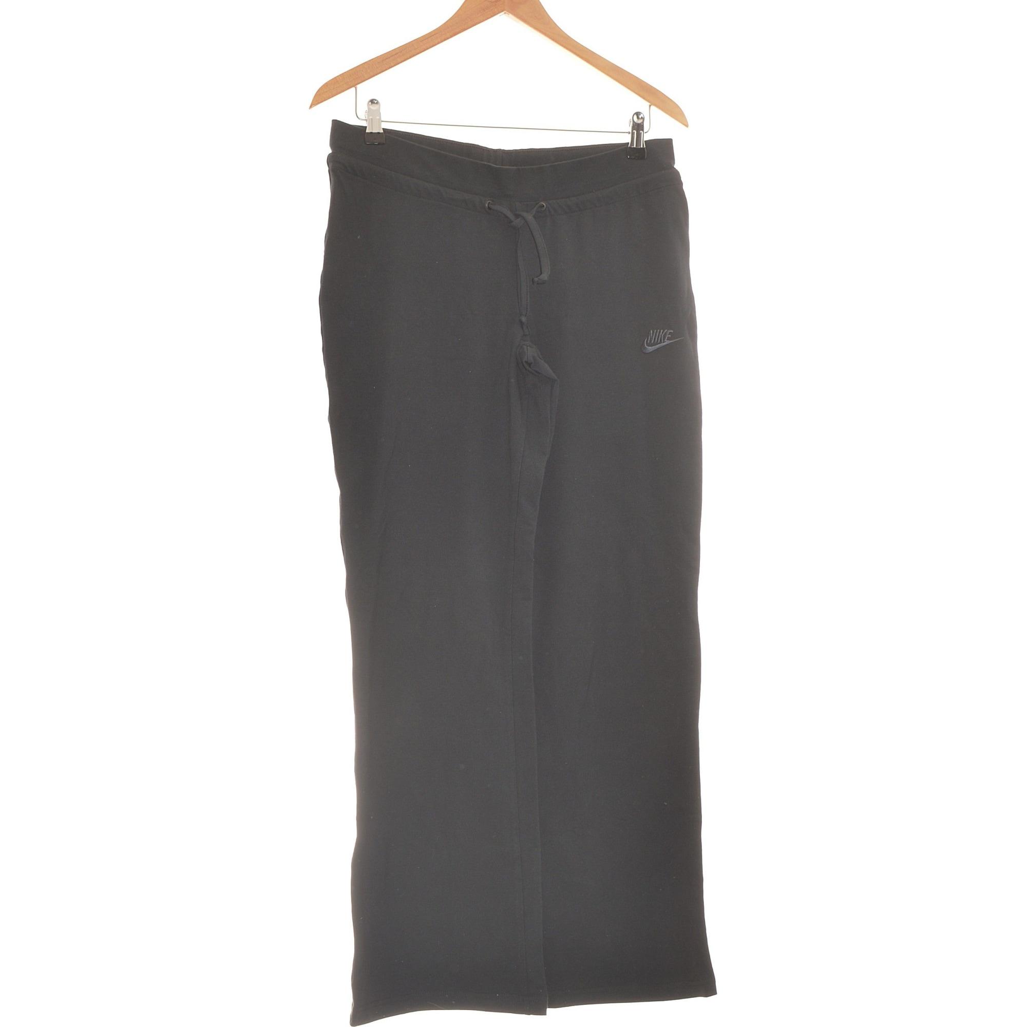 Pantalon droit NIKE Noir