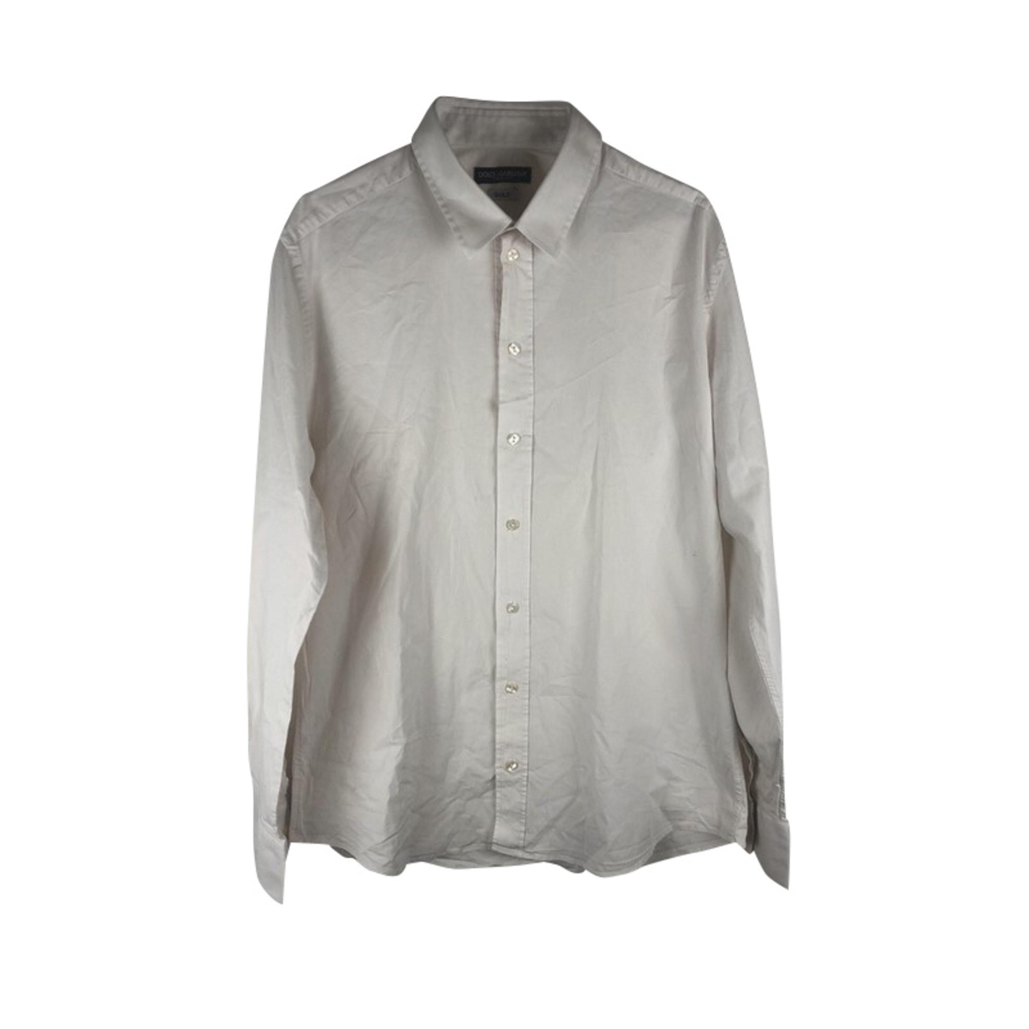 Shirt DOLCE & GABBANA White, off-white, ecru