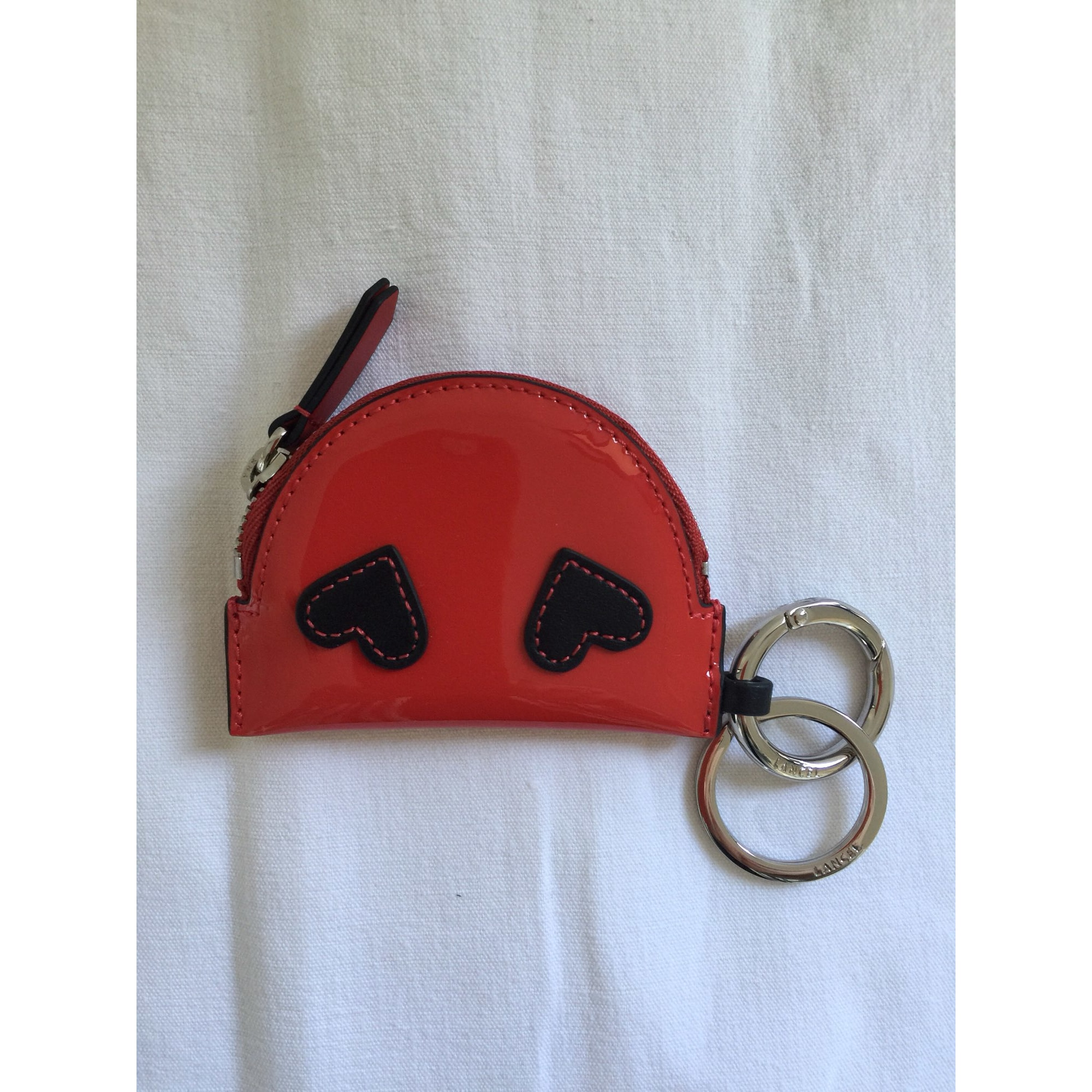 Porte-clés LANCEL Rouge, bordeaux