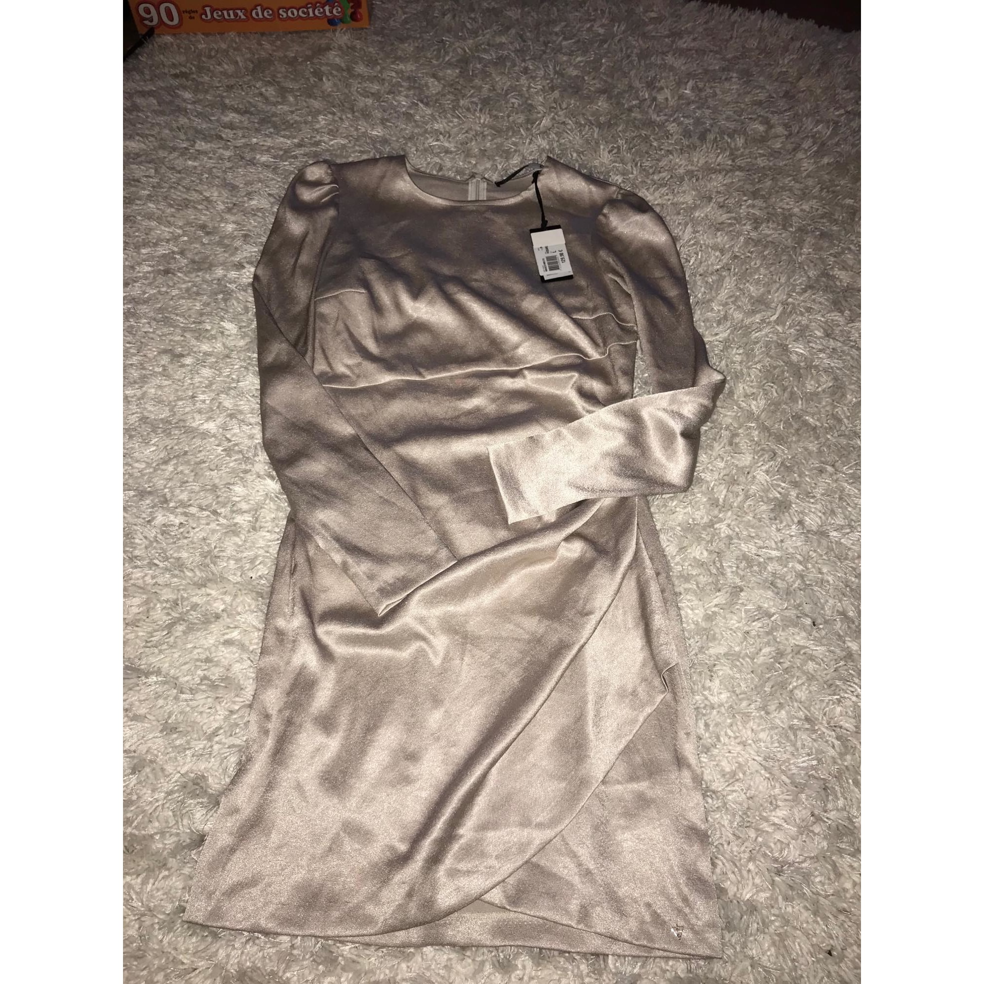 Robe mi-longue ARMANI Doré, bronze, cuivre