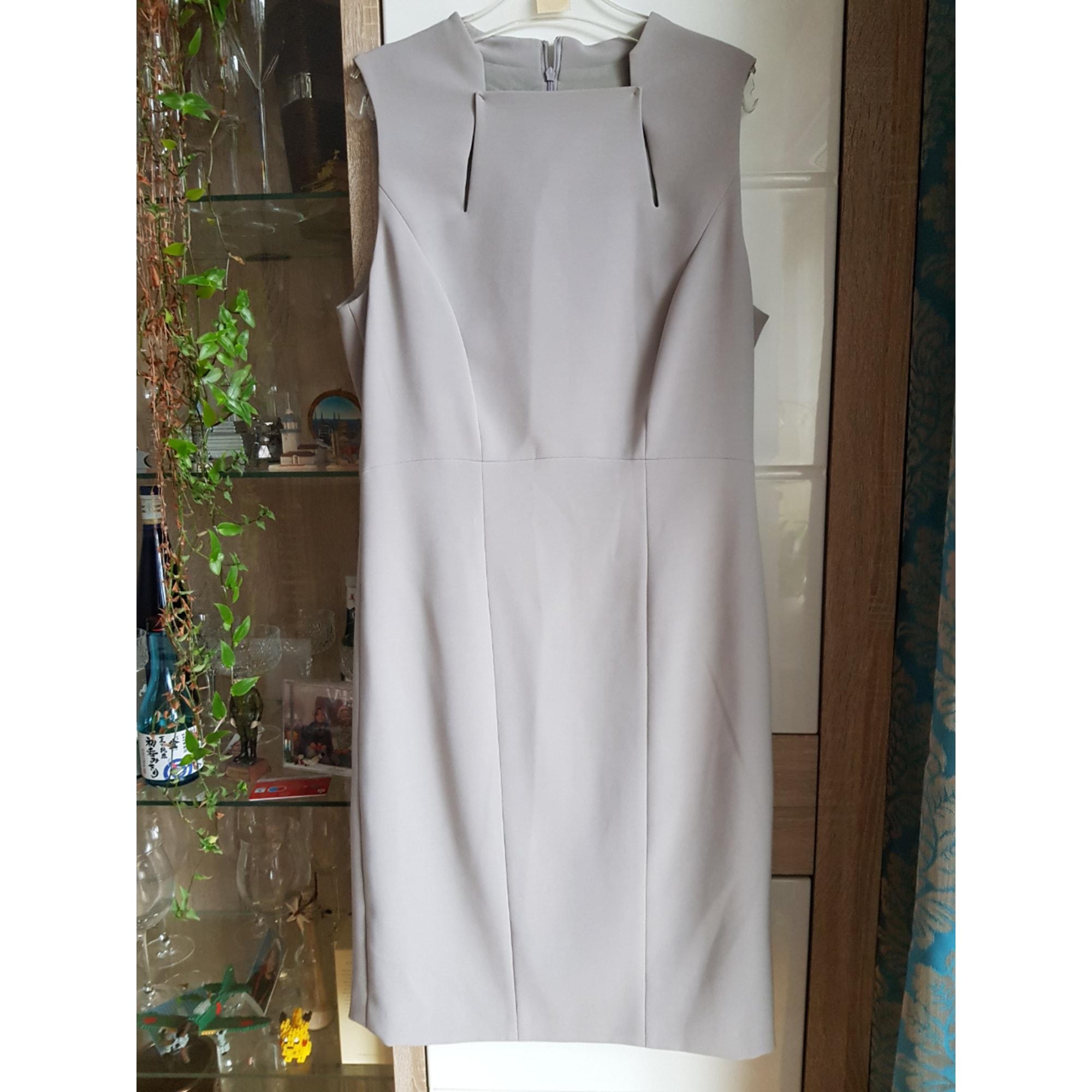 Robe mi-longue BLACK DRESS BERLIN Gris, anthracite