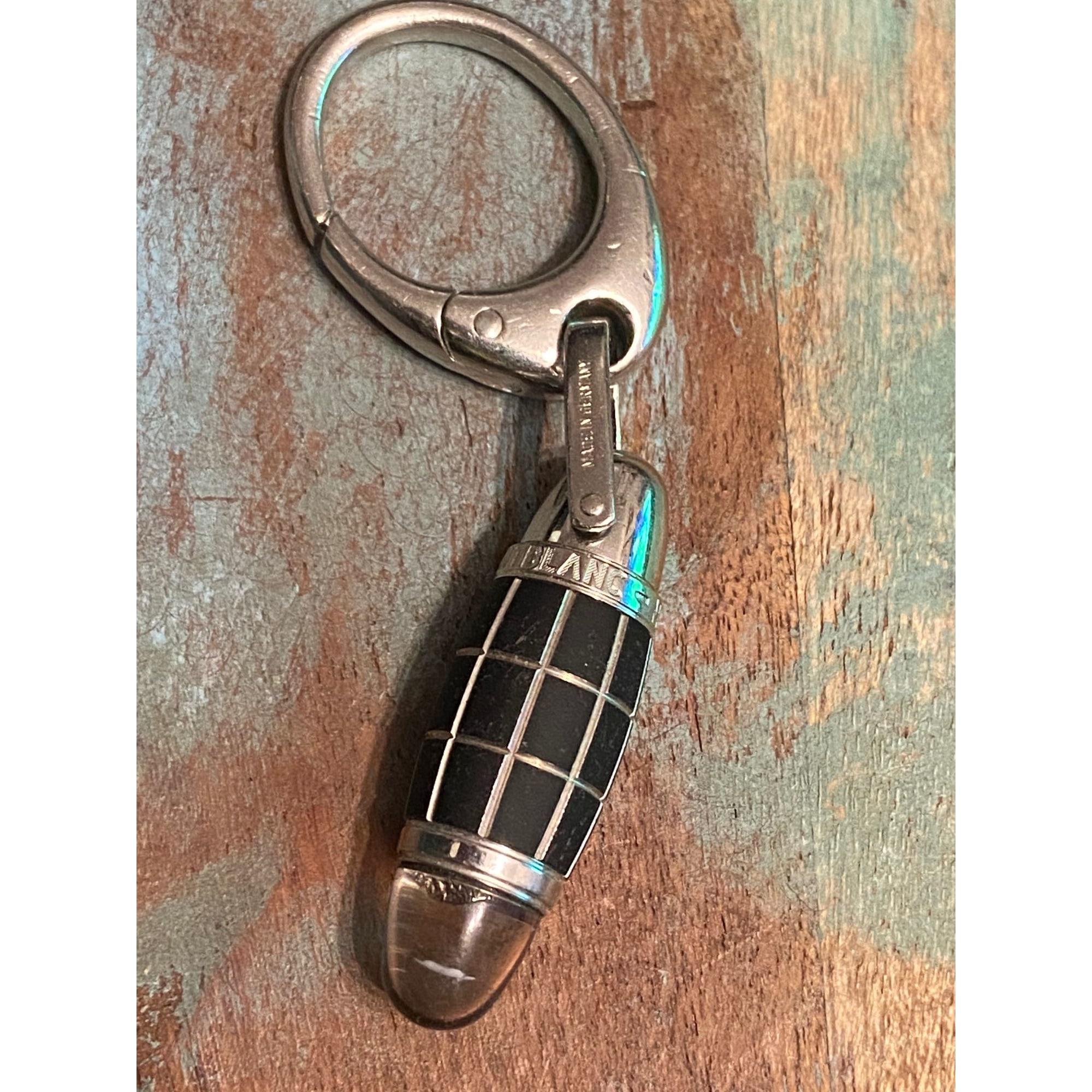 Schlüsseletui MONTBLANC Silberfarben, stahlfarben
