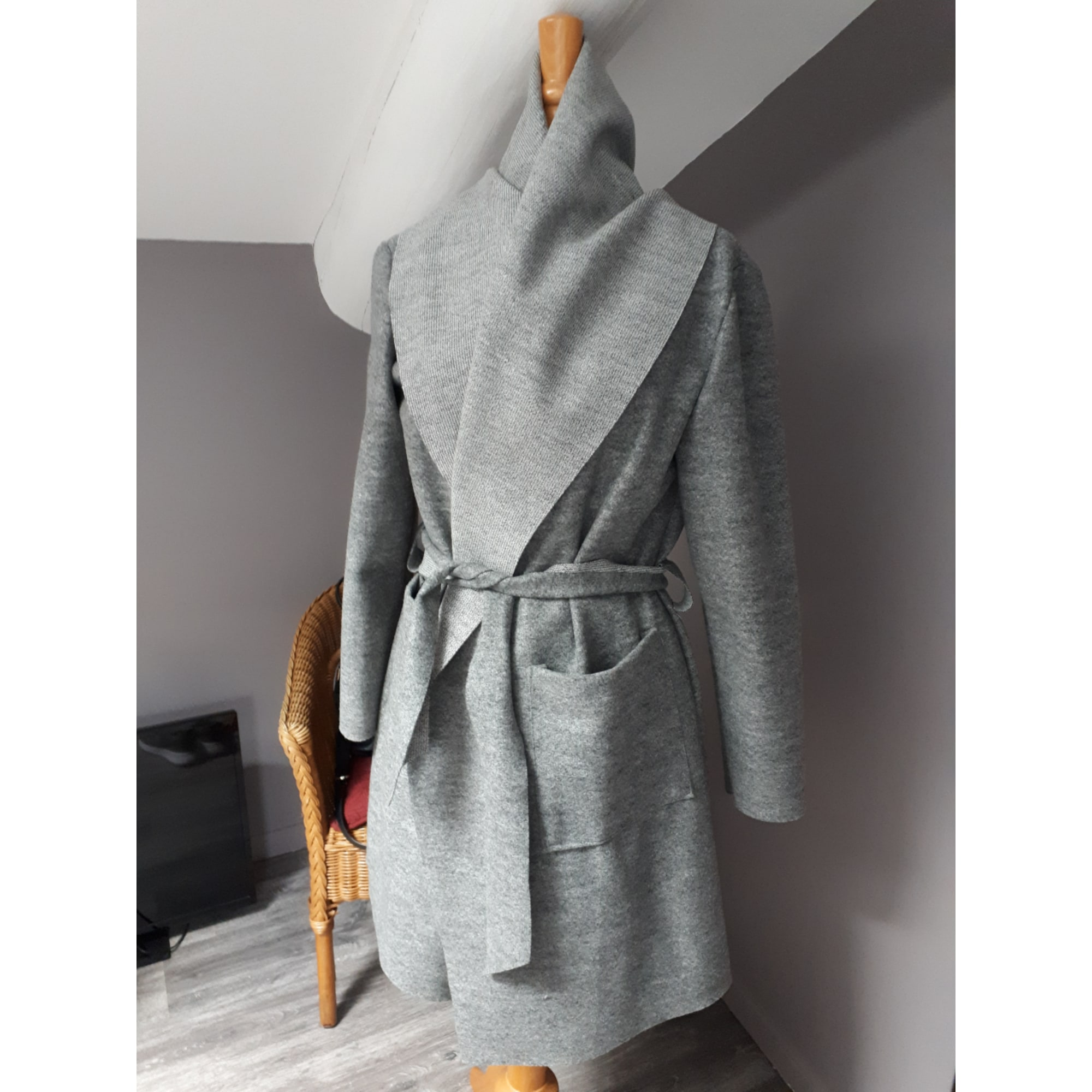 Imperméable, trench MARQUE INCONNUE Gris, anthracite