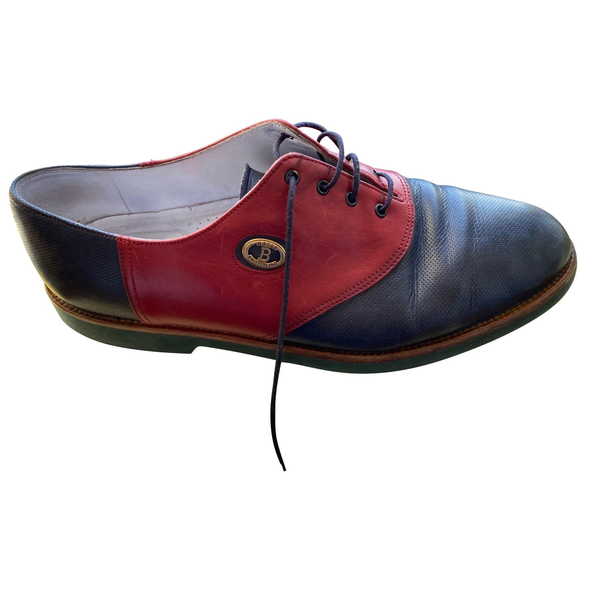 Chaussures à lacets BALLY Bleu, bleu marine, bleu turquoise