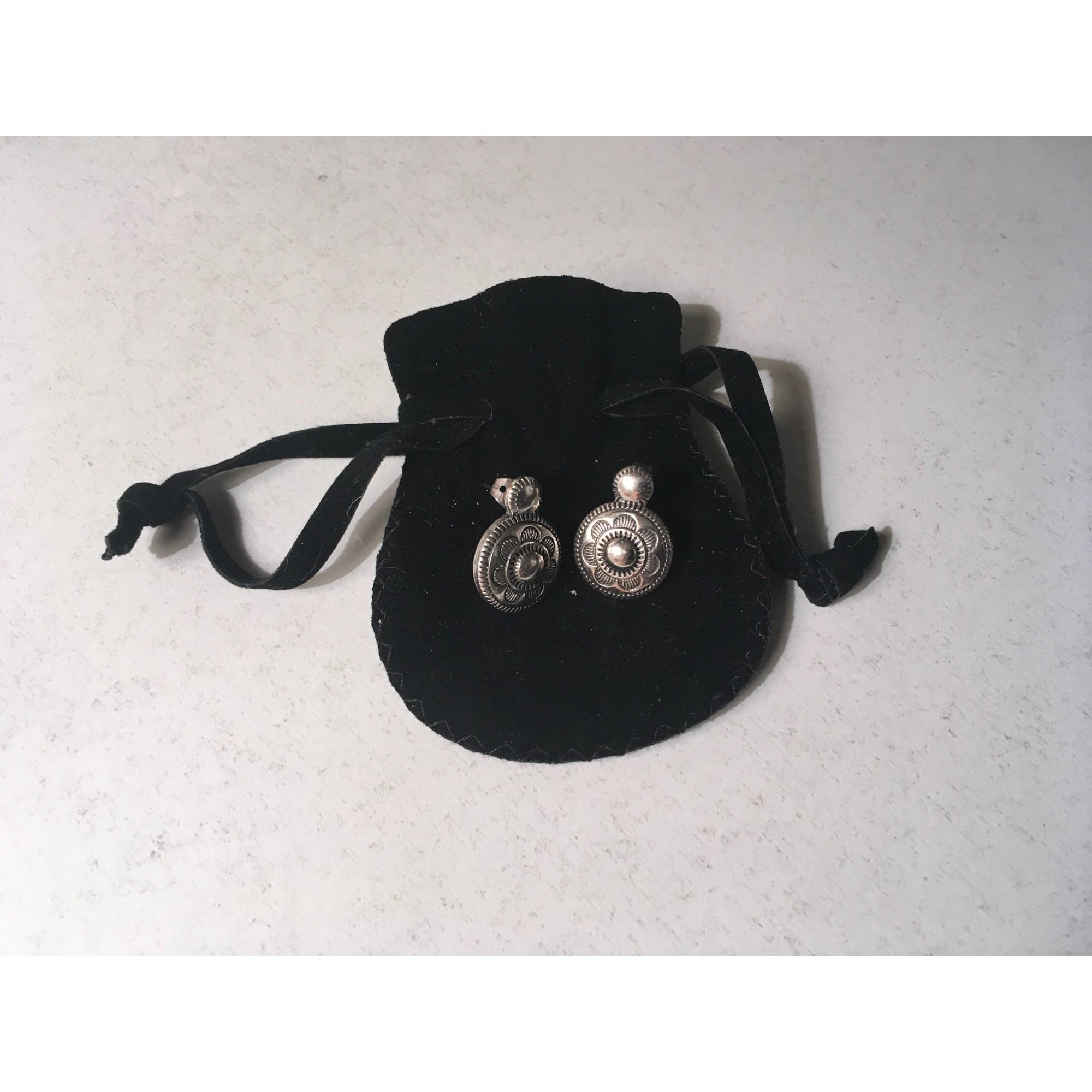 Boucles d'oreille SCOOTER Argenté, acier