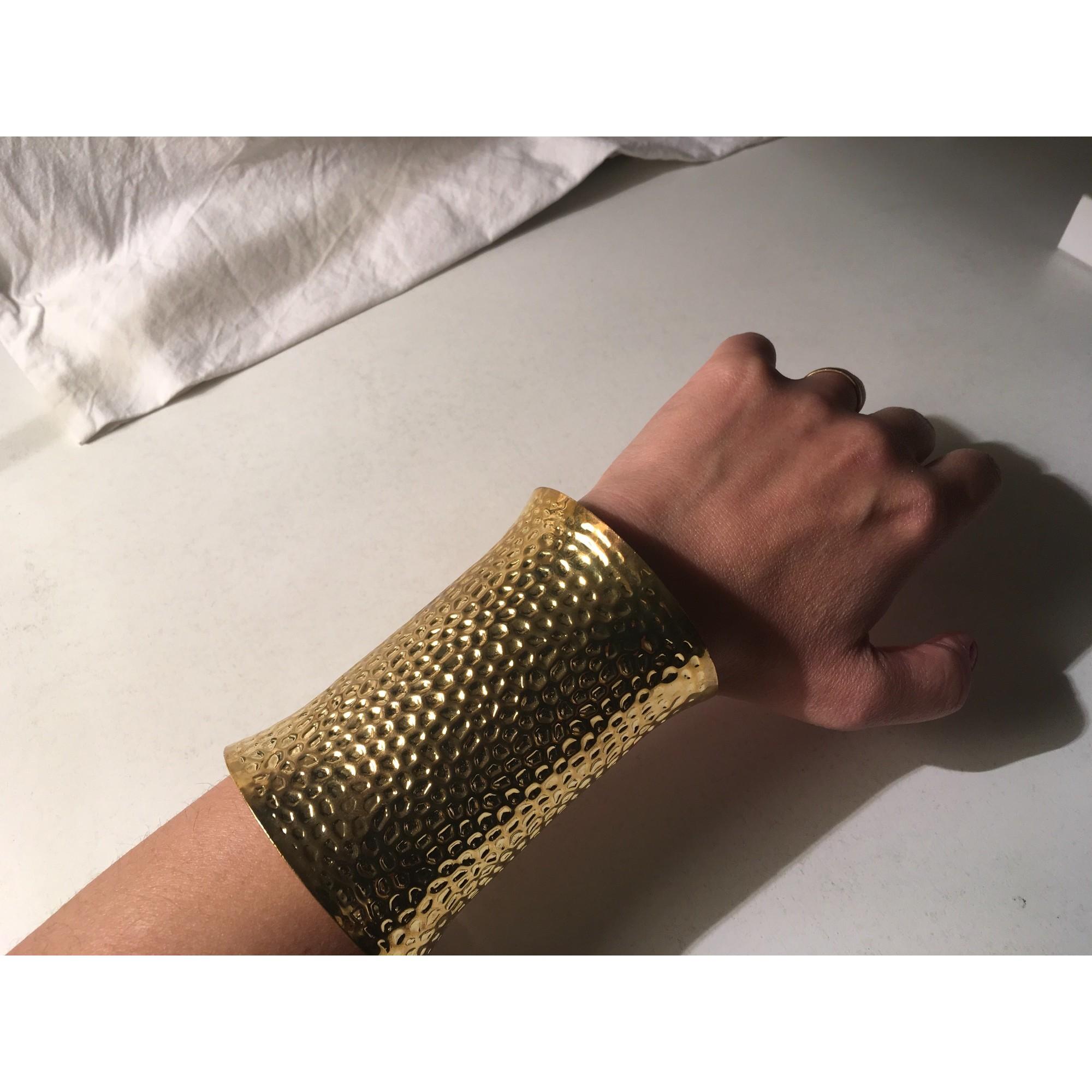 Bracelet MARQUE INCONNUE Doré, bronze, cuivre