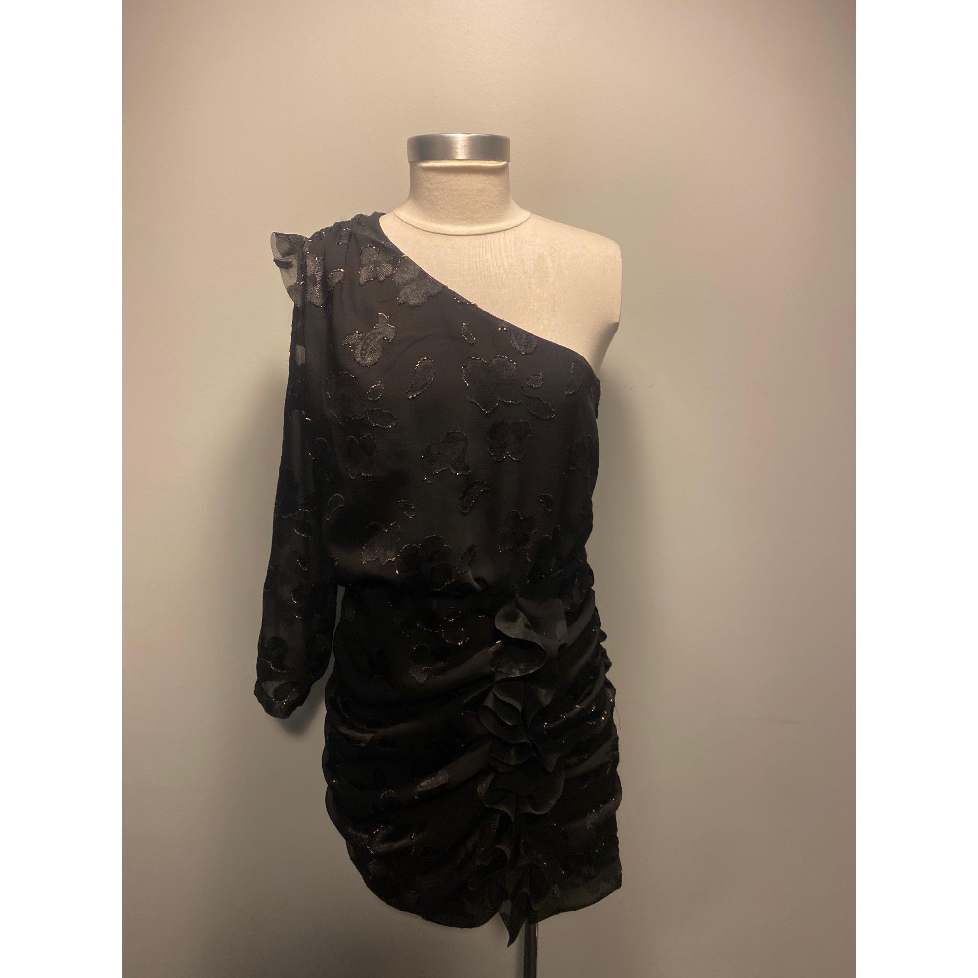 Robe courte ALL SAINTS Noir