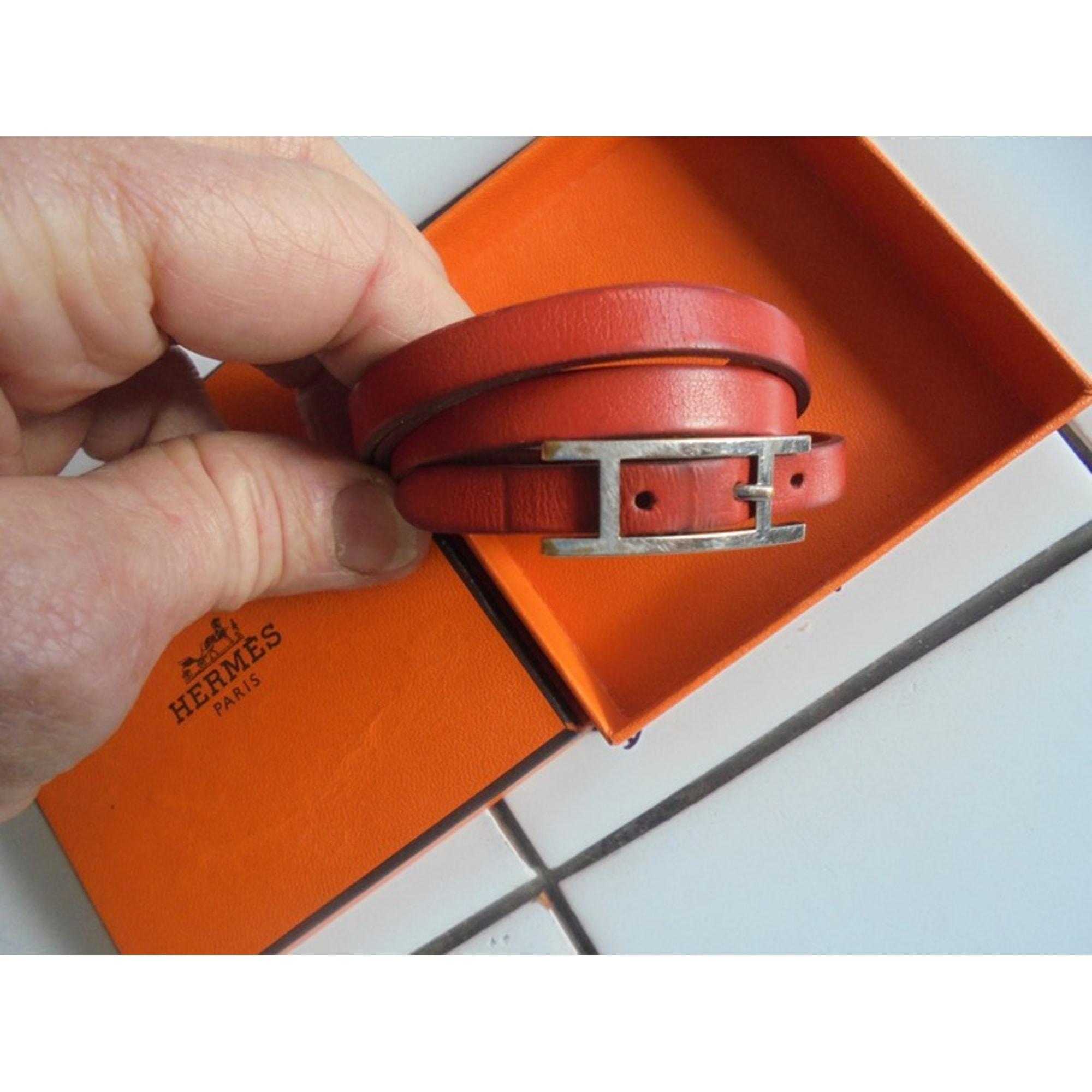Bracelet HERMÈS Hapi Orange