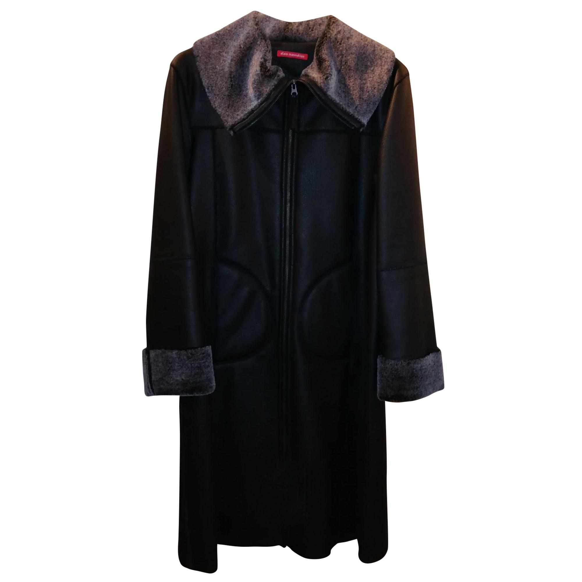 Manteau ALAIN MANOUKIAN Noir