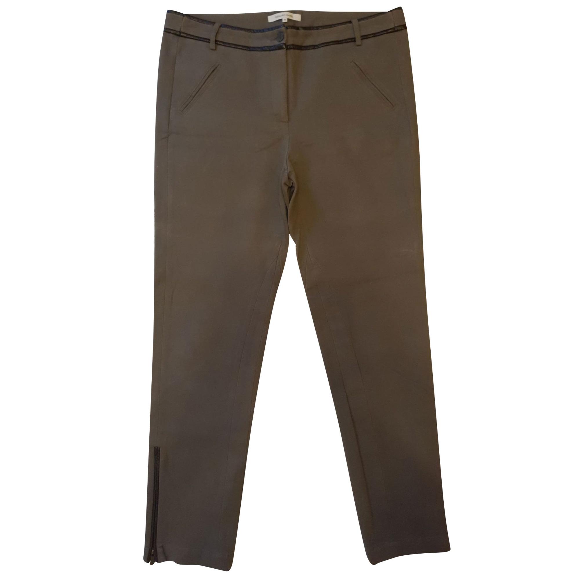 Pantalon slim, cigarette GERARD DAREL Kaki