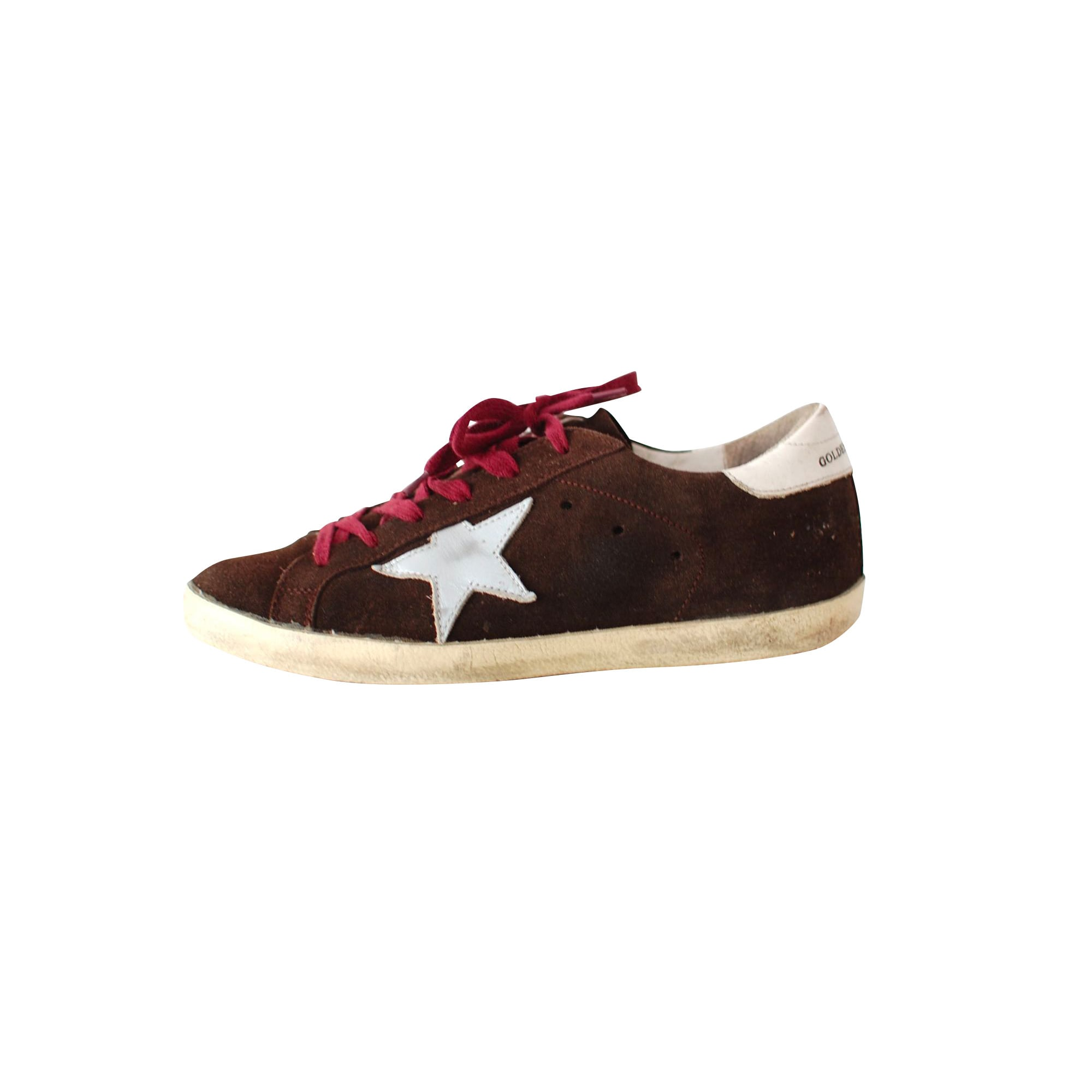 Chaussures de sport GOLDEN GOOSE Marron