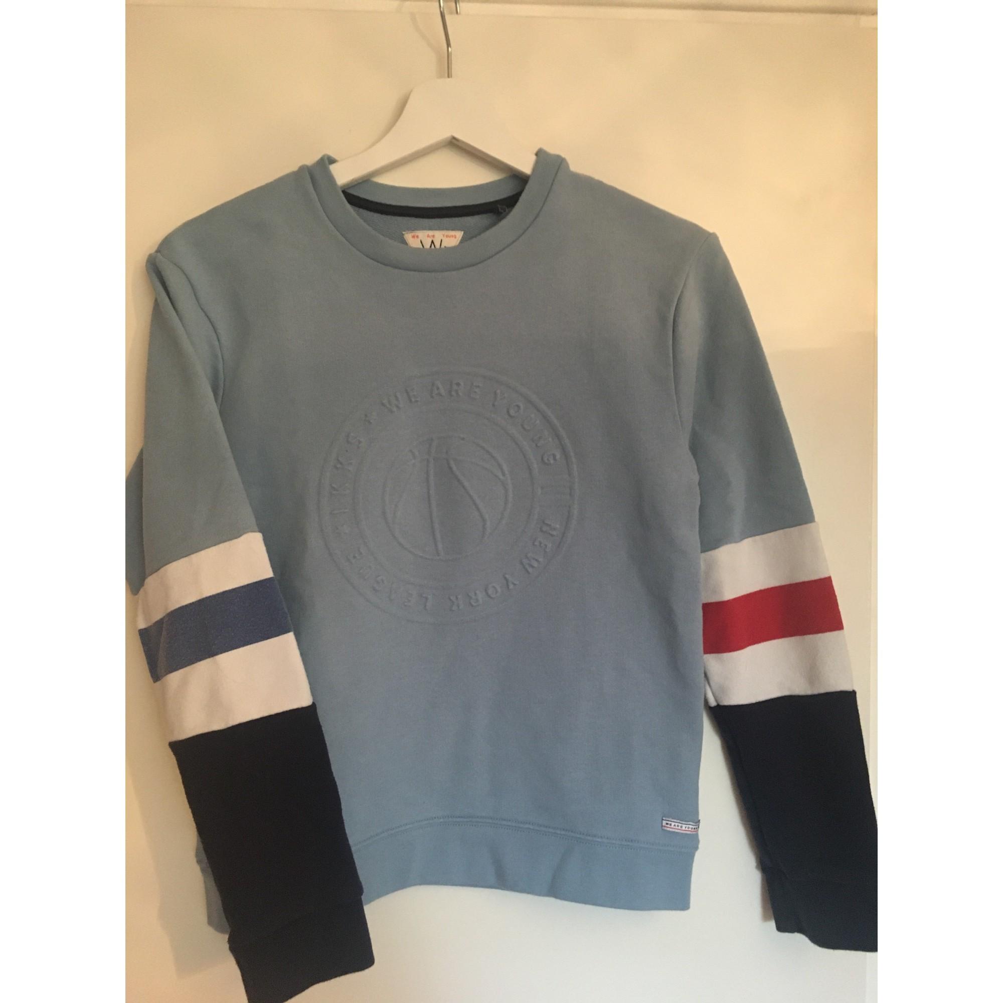 Sweat IKKS Bleu, bleu marine, bleu turquoise