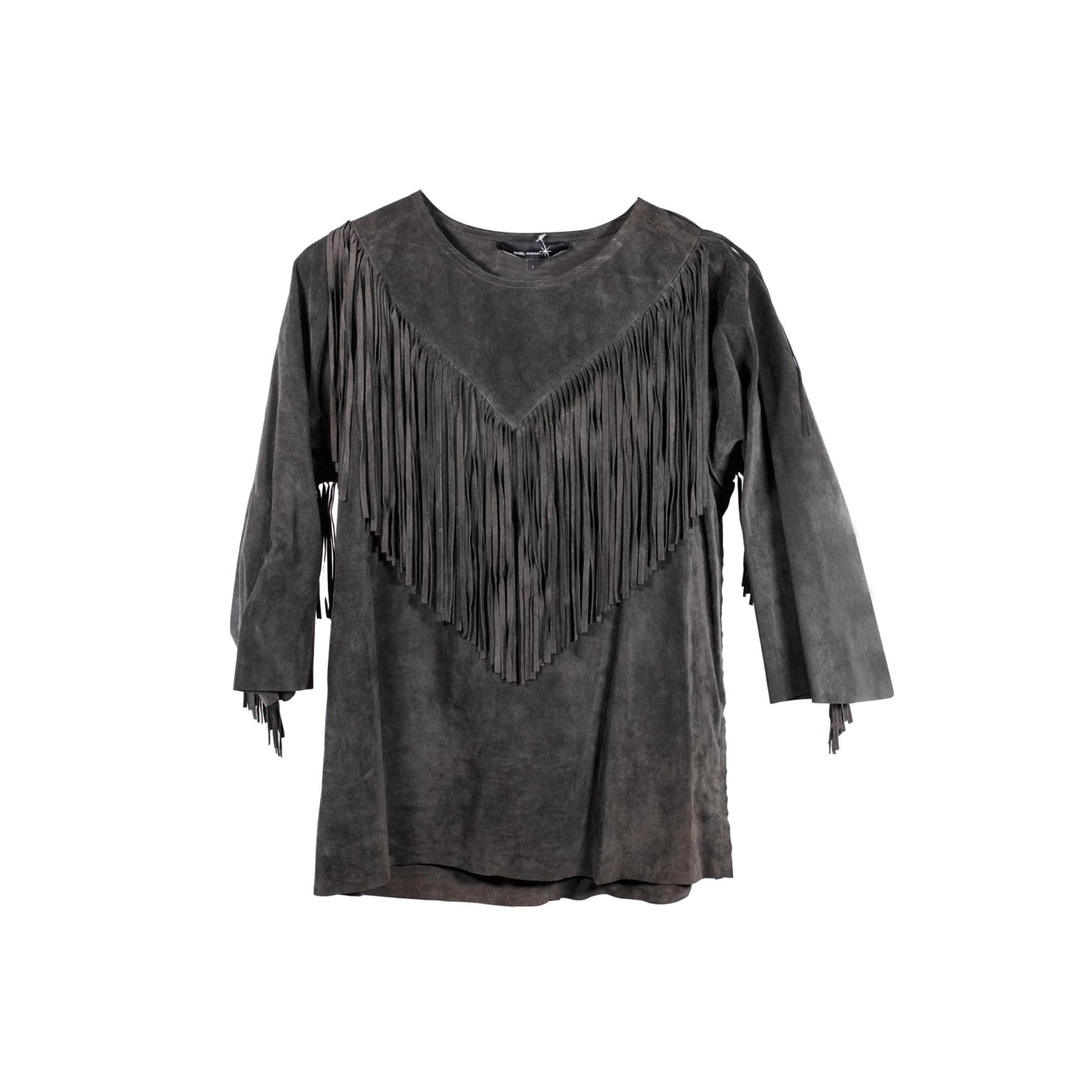 Top, tee-shirt ISABEL MARANT Kaki