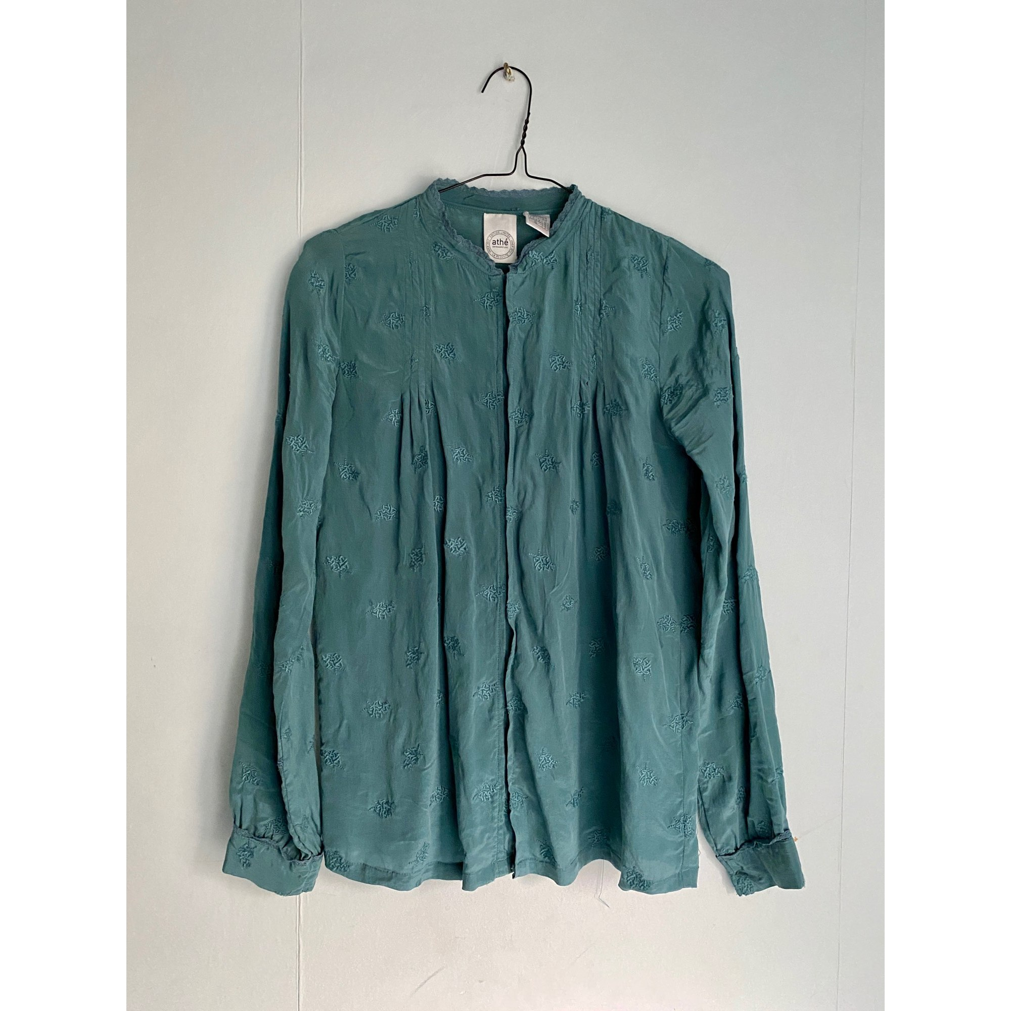Blouse ATHÉ VANESSA BRUNO Bleu, bleu marine, bleu turquoise