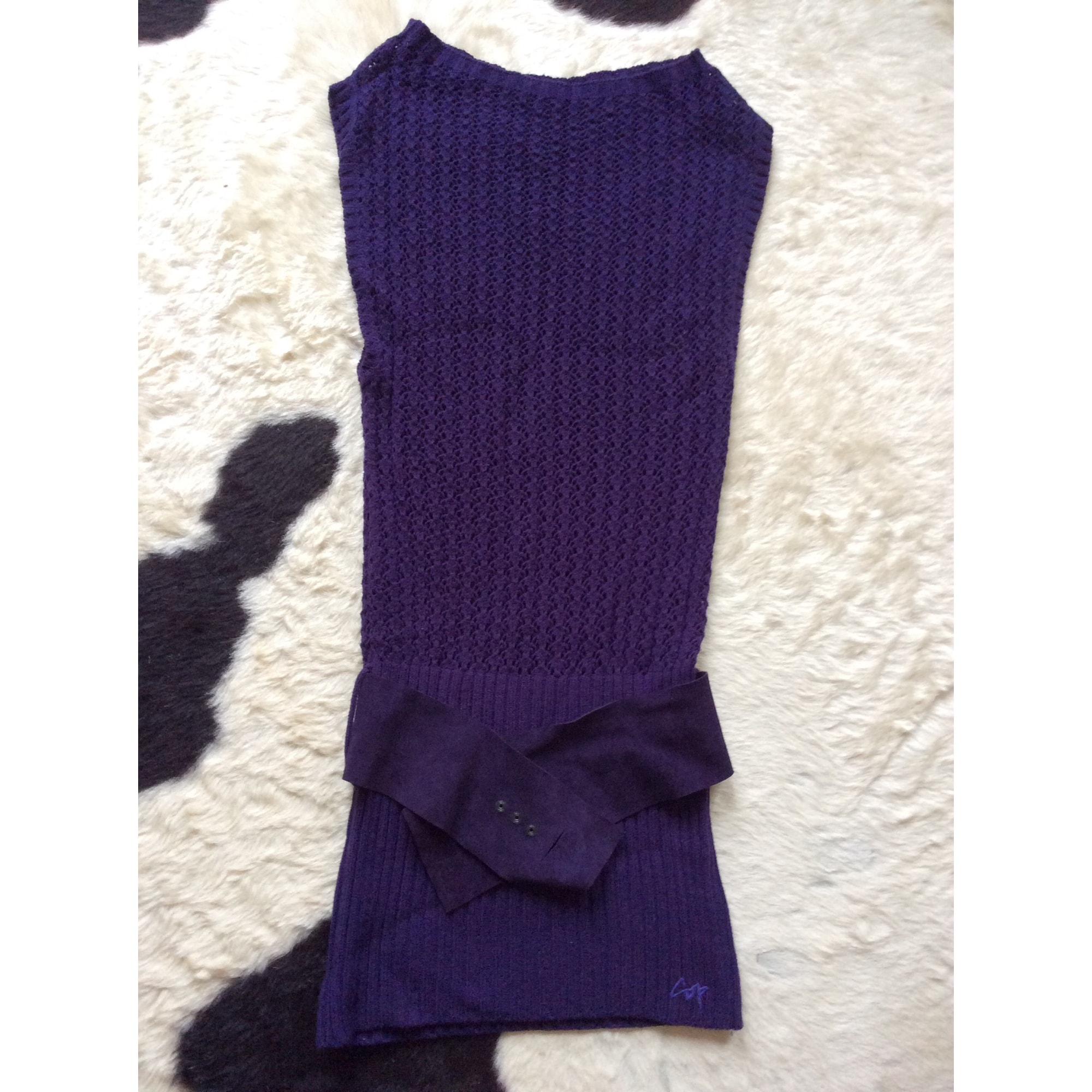 Robe mi-longue COP-COPINE Violet, mauve, lavande