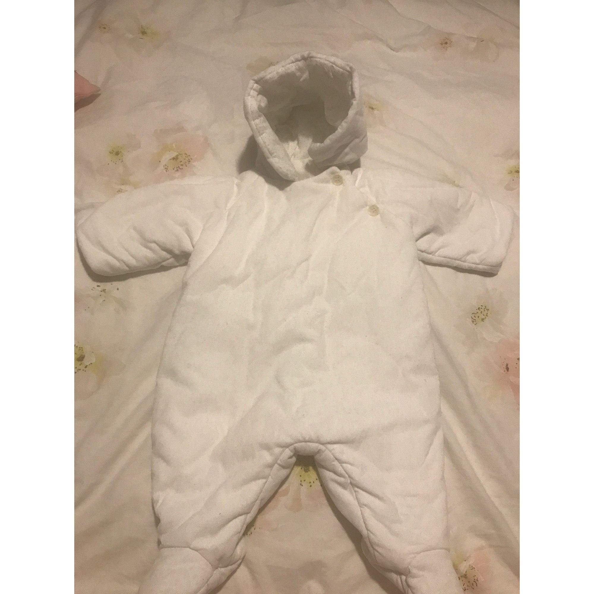 Ensemble & Combinaison pantalon BONPOINT Blanc, blanc cassé, écru