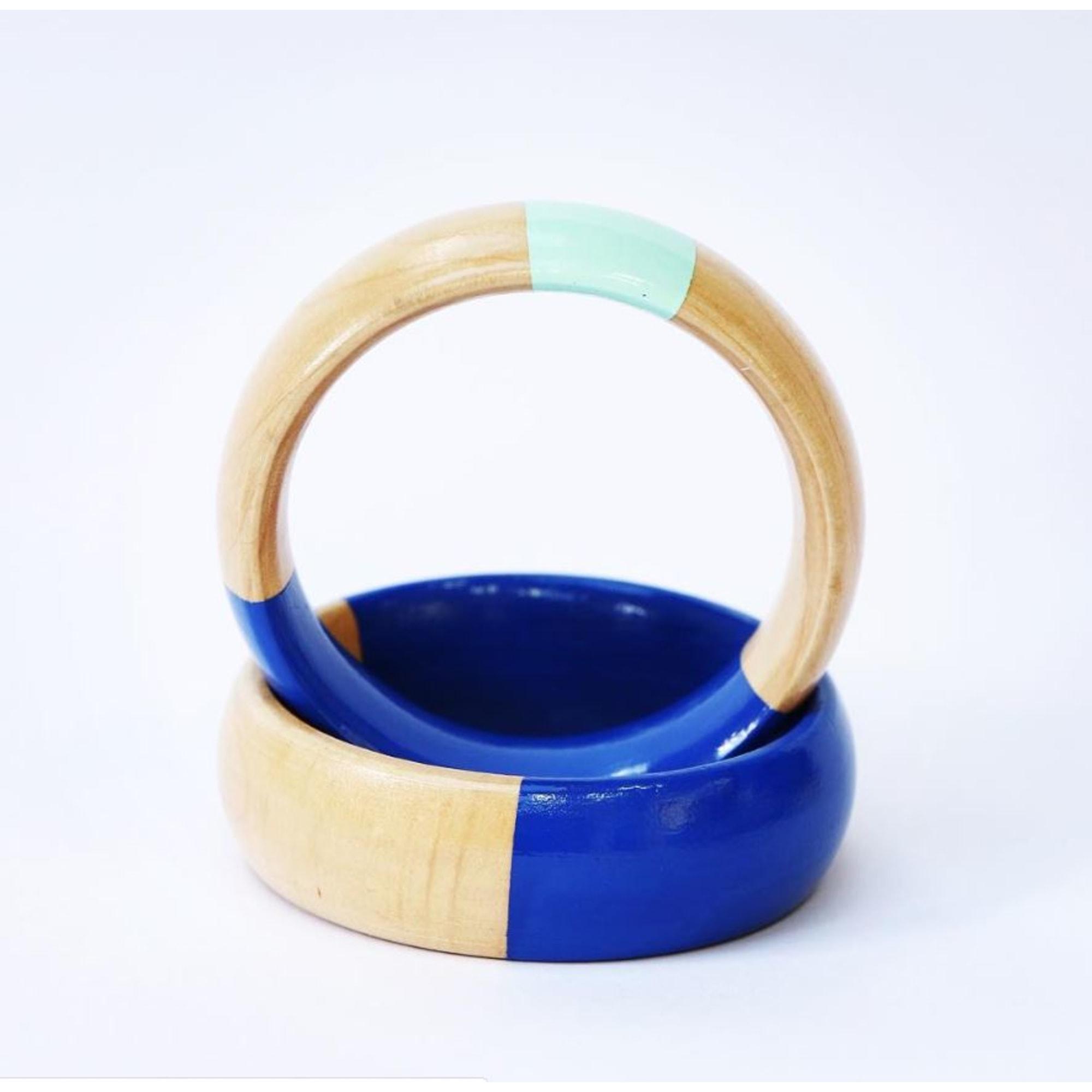 Bracelet MORPHÉE EST UN GARÇON Bleu, bleu marine, bleu turquoise