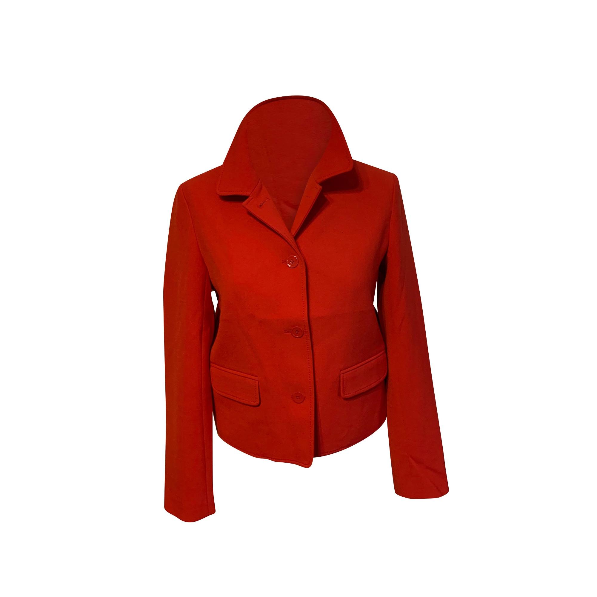 Blazer, veste tailleur VANESSA BRUNO Rouge, bordeaux