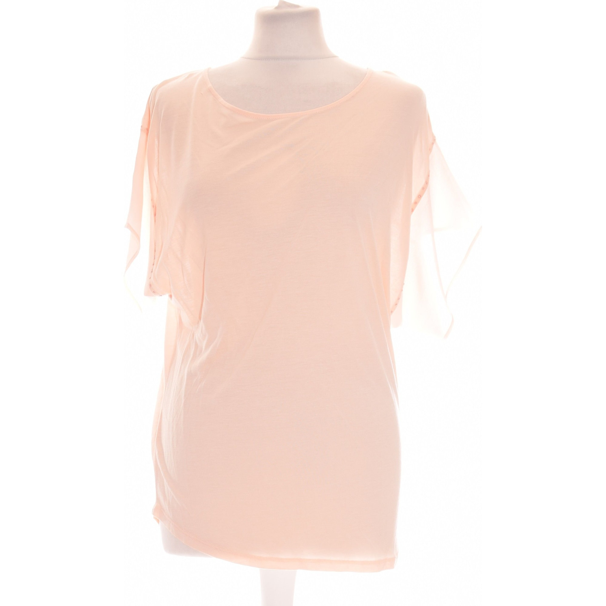 Top, tee-shirt KOOKAI Rose, fuschia, vieux rose