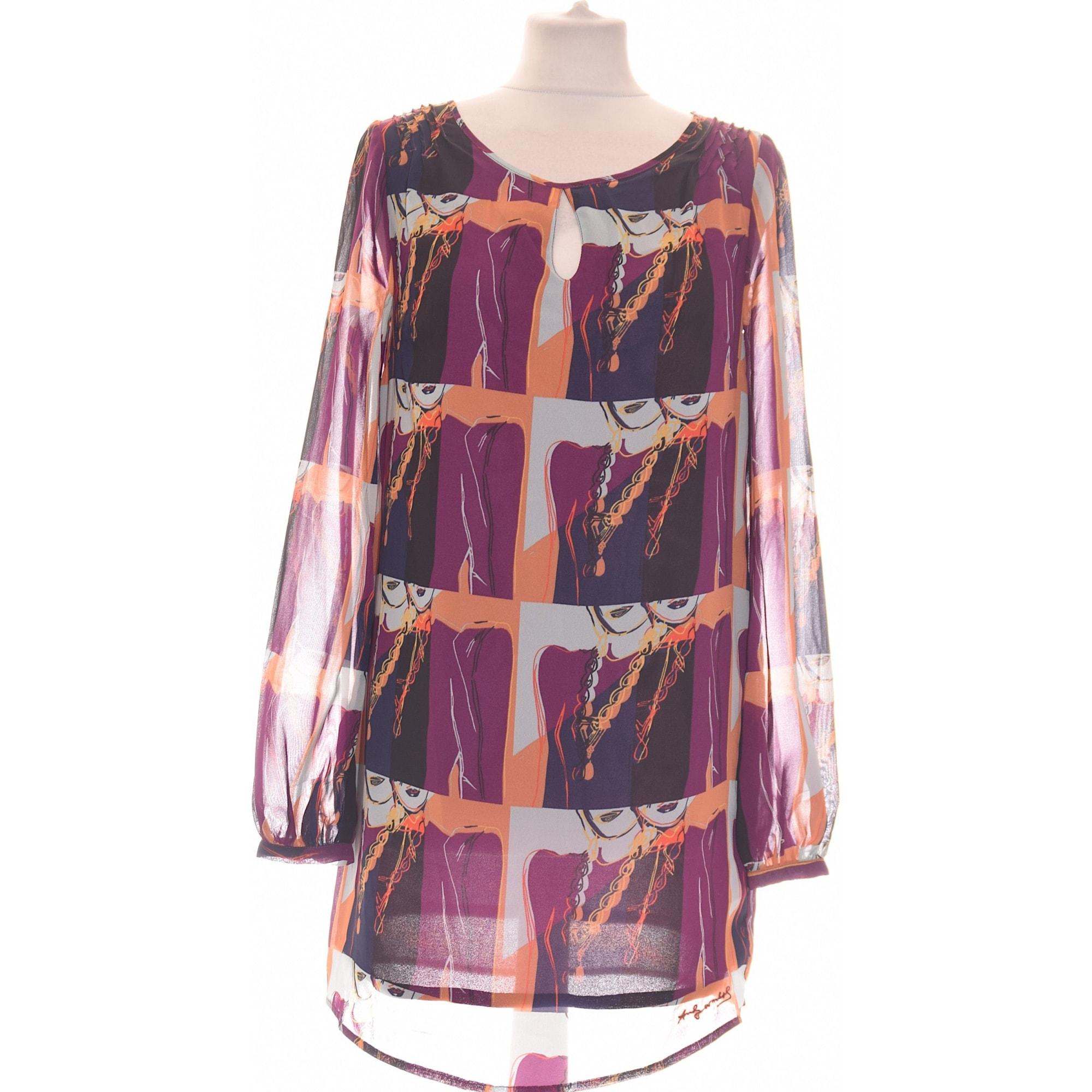 Robe courte PEPE JEANS Violet, mauve, lavande