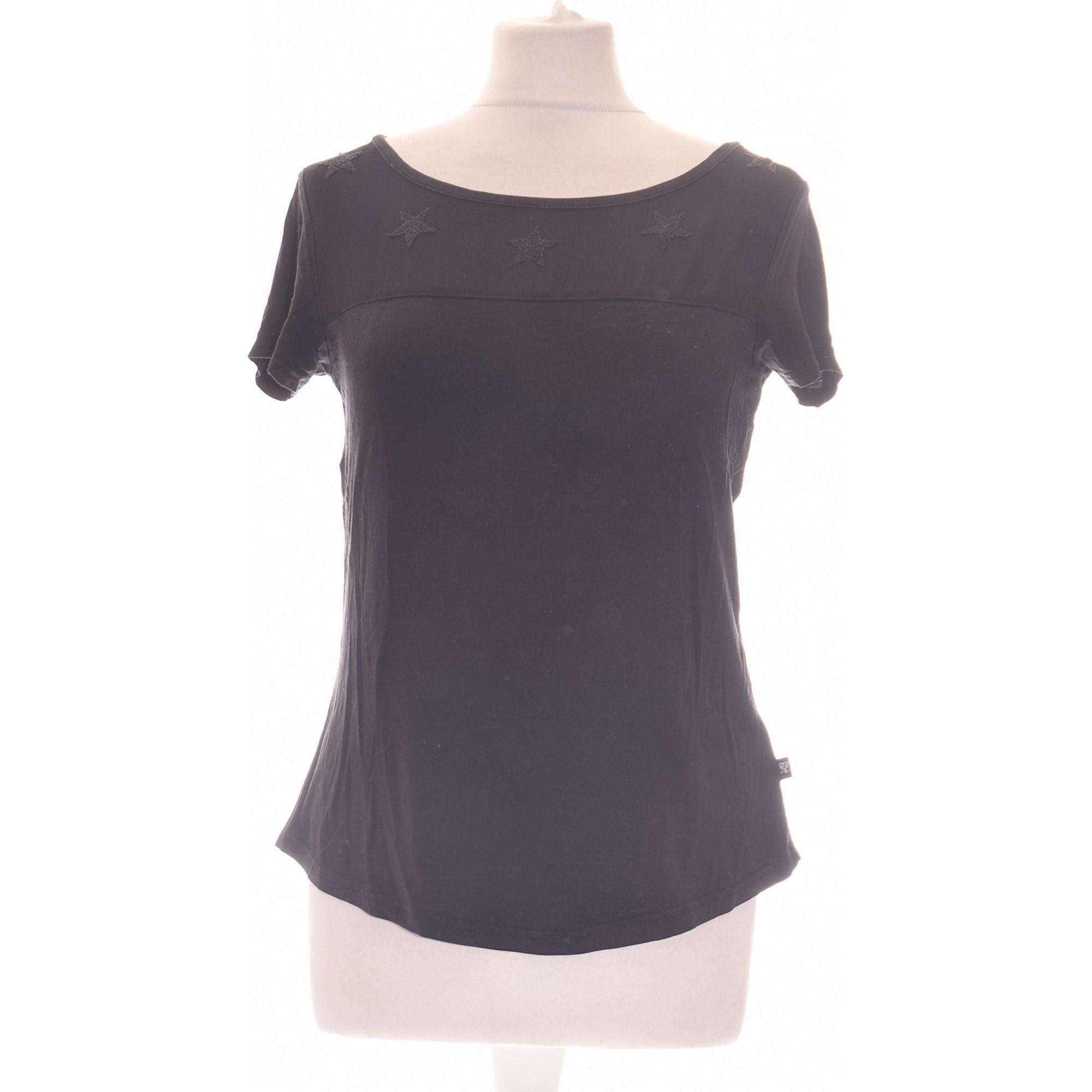 Top, tee-shirt LE TEMPS DES CERISES Noir