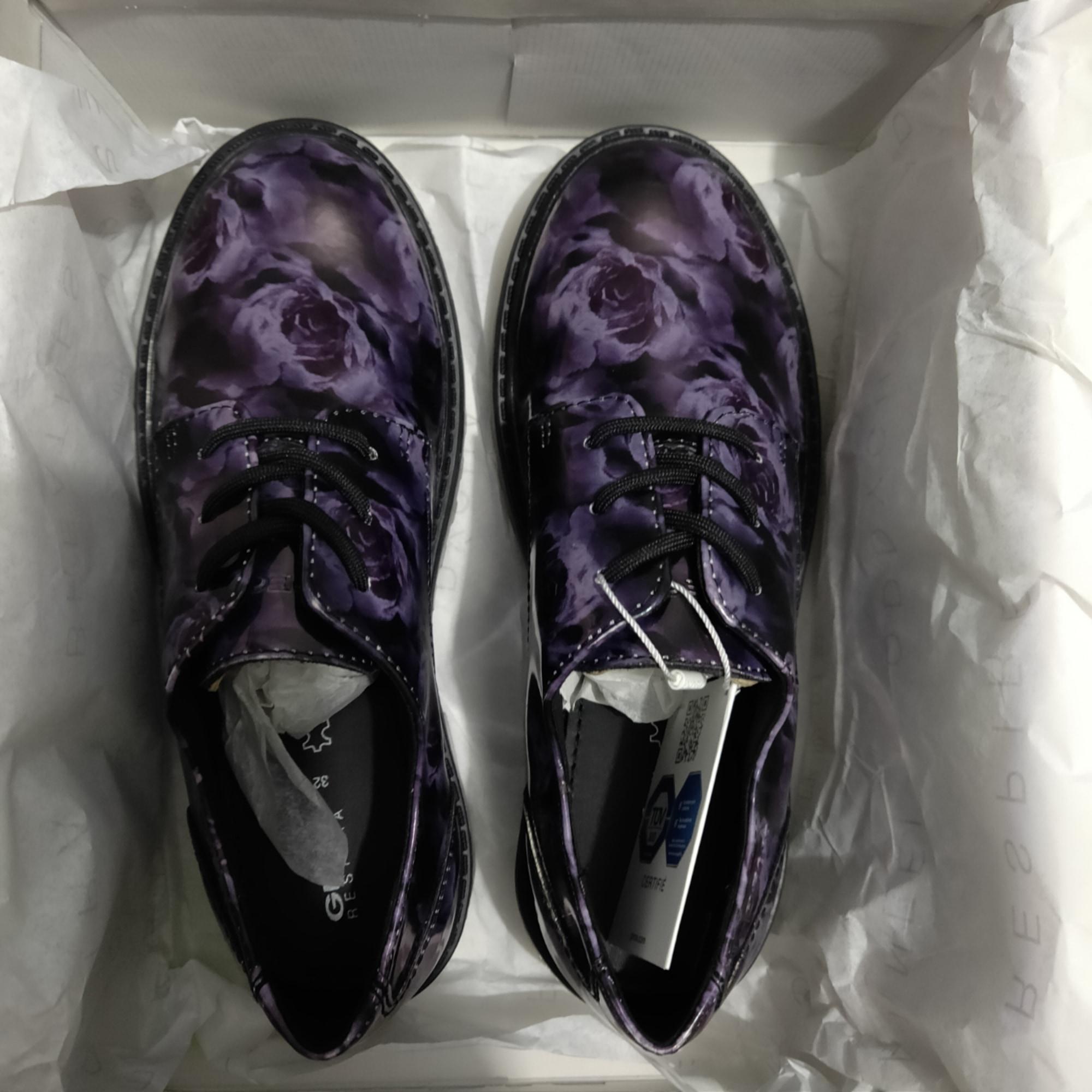 Chaussures à lacets GEOX Violet, mauve, lavande