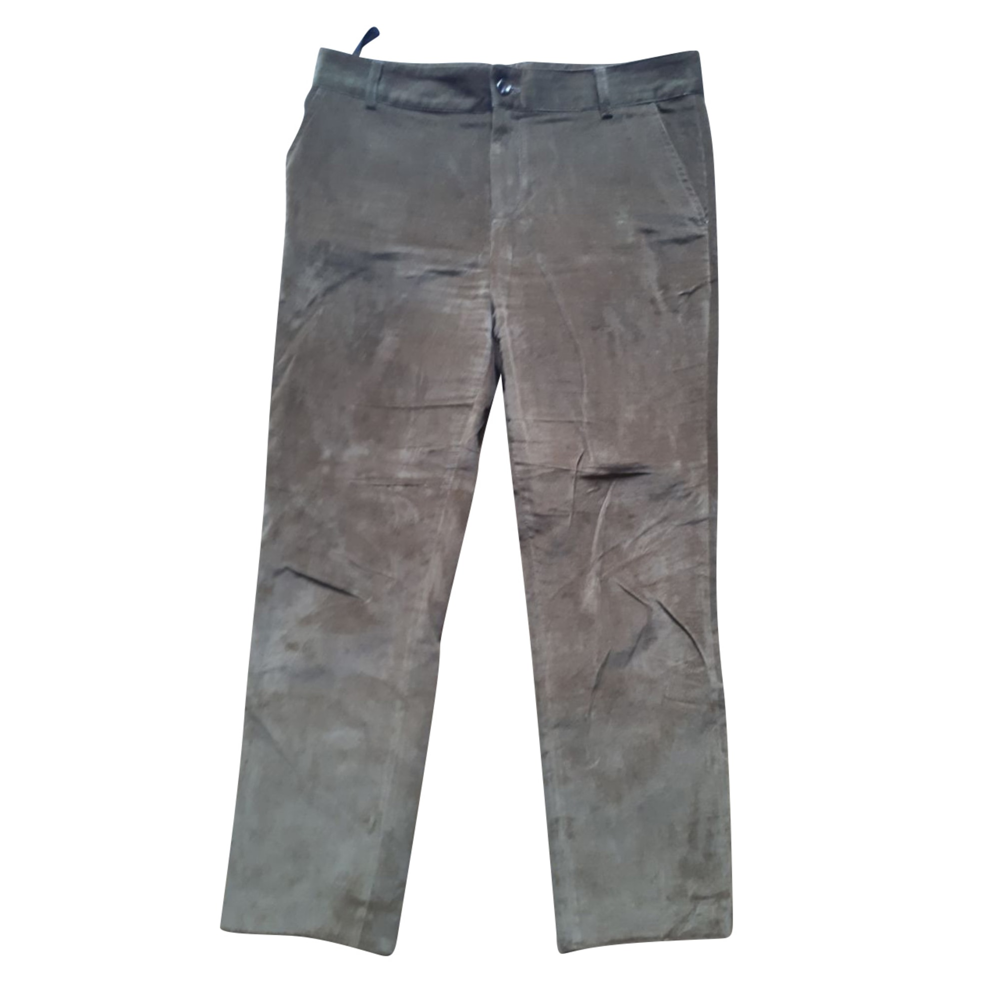Pantalon droit SOEUR Kaki