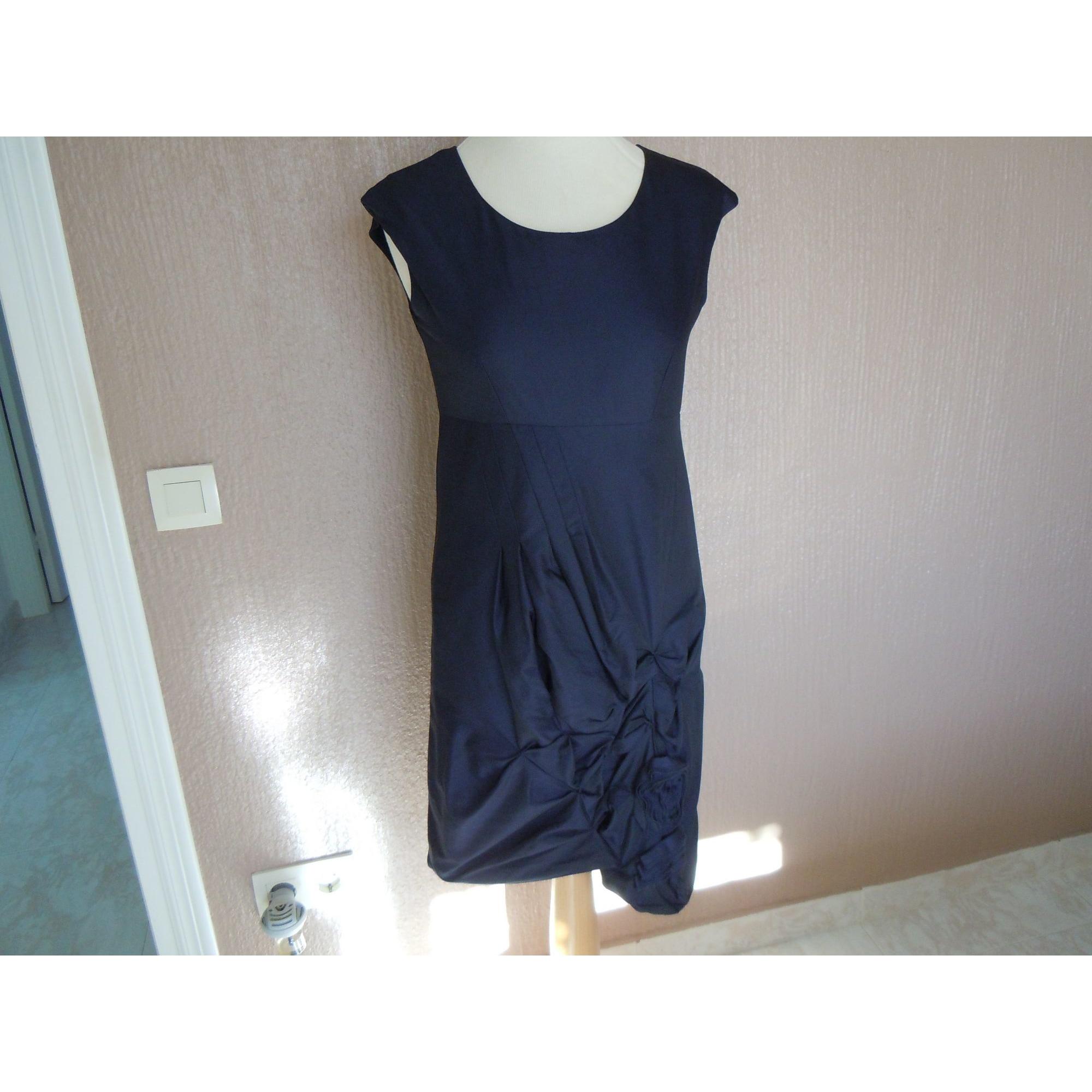 Robe mi-longue BLEU BLANC ROUGE Bleu, bleu marine, bleu turquoise