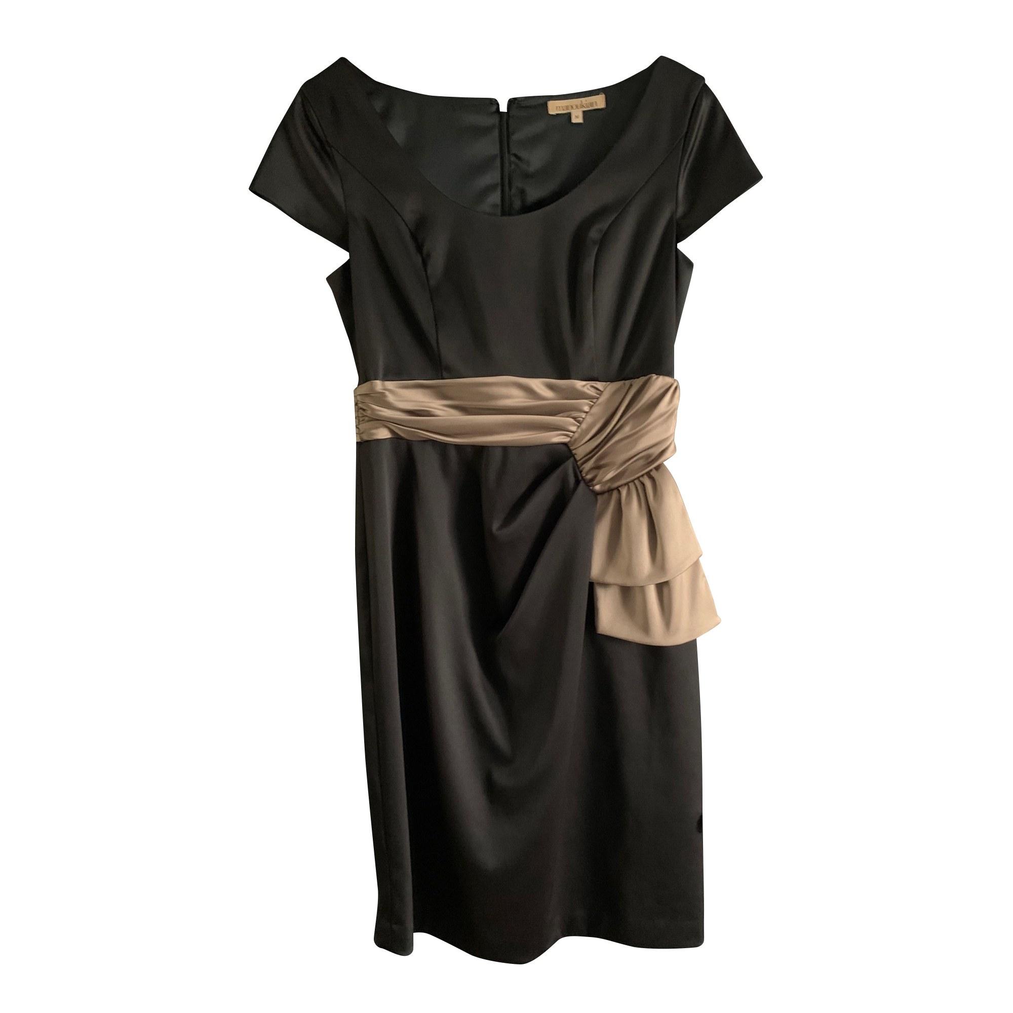 Robe courte ALAIN MANOUKIAN Noir
