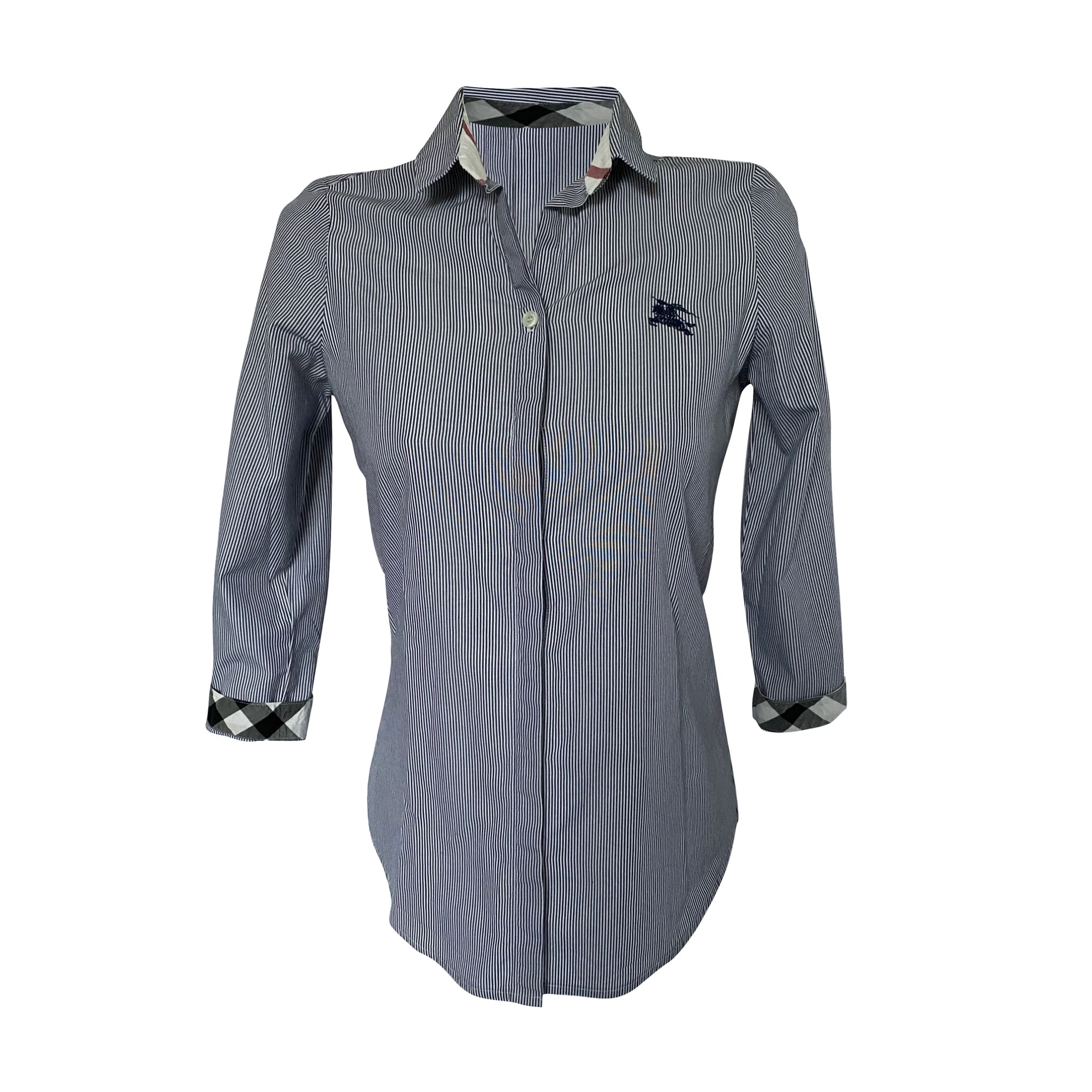 Blouse BURBERRY Gris, anthracite