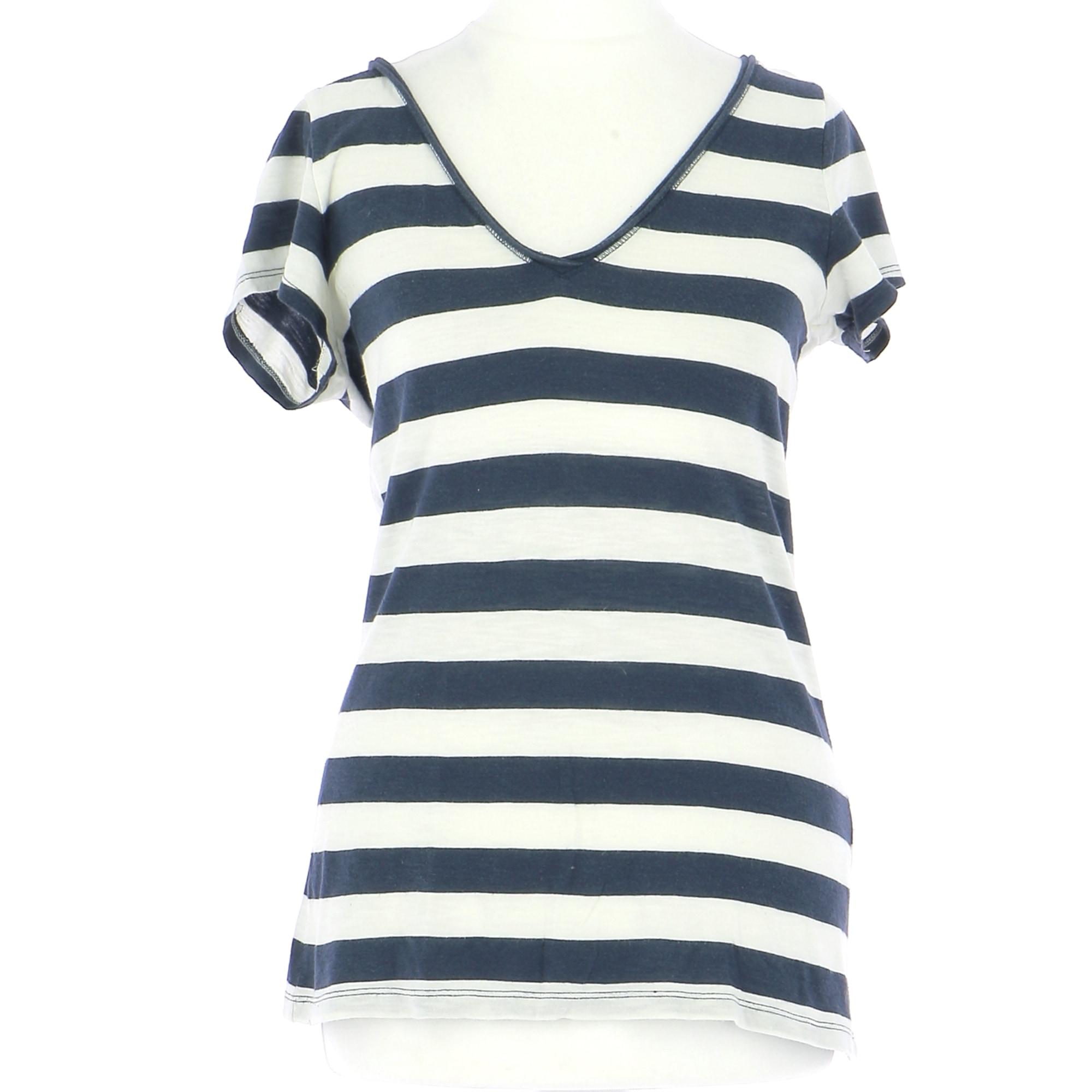 Top, tee-shirt ABERCROMBIE & FITCH Bleu, bleu marine, bleu turquoise