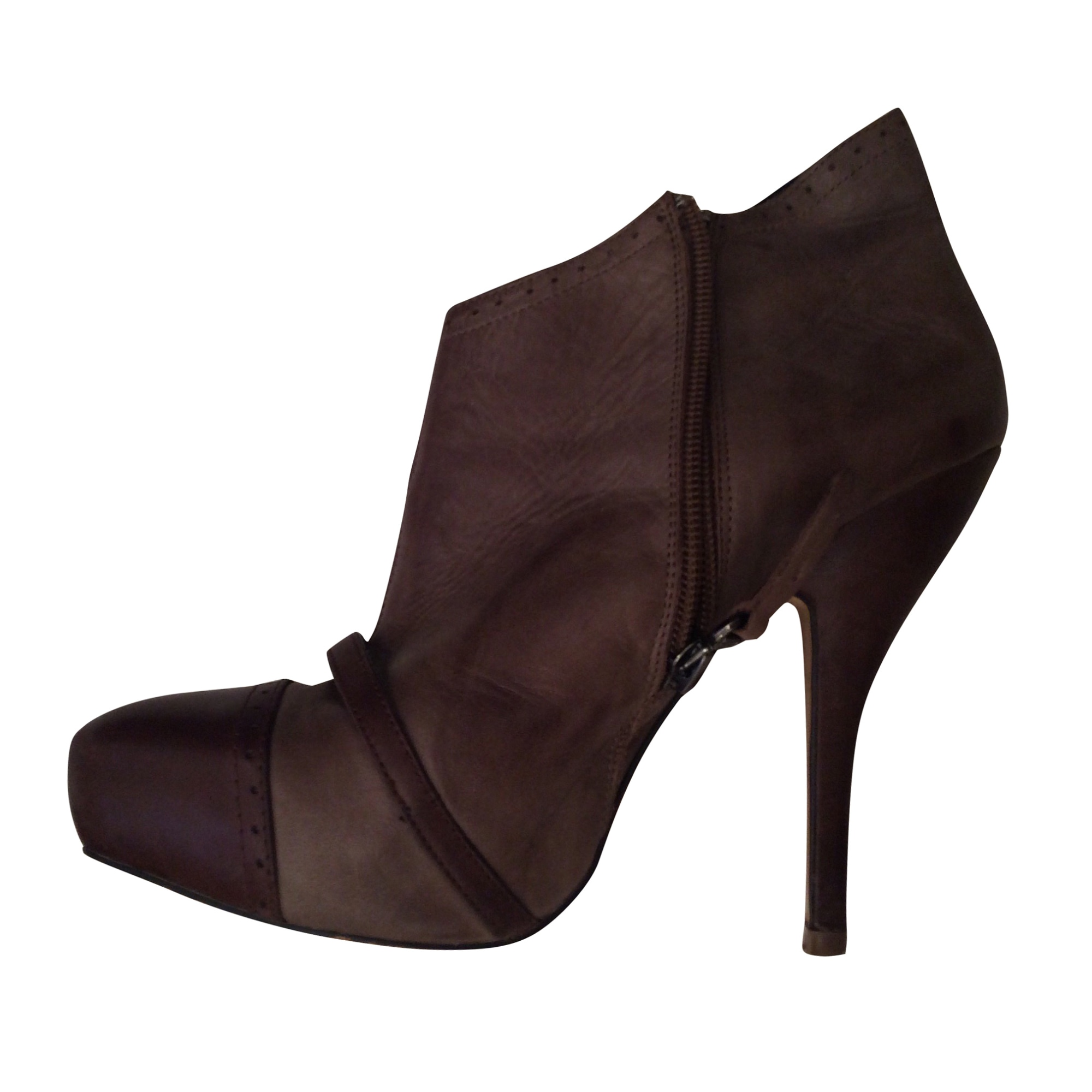 High Heel Ankle Boots ZADIG & VOLTAIRE Brown