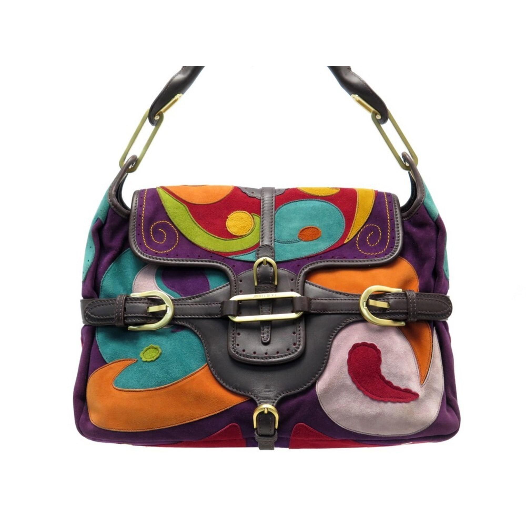 Lederhandtasche JIMMY CHOO Multicolore