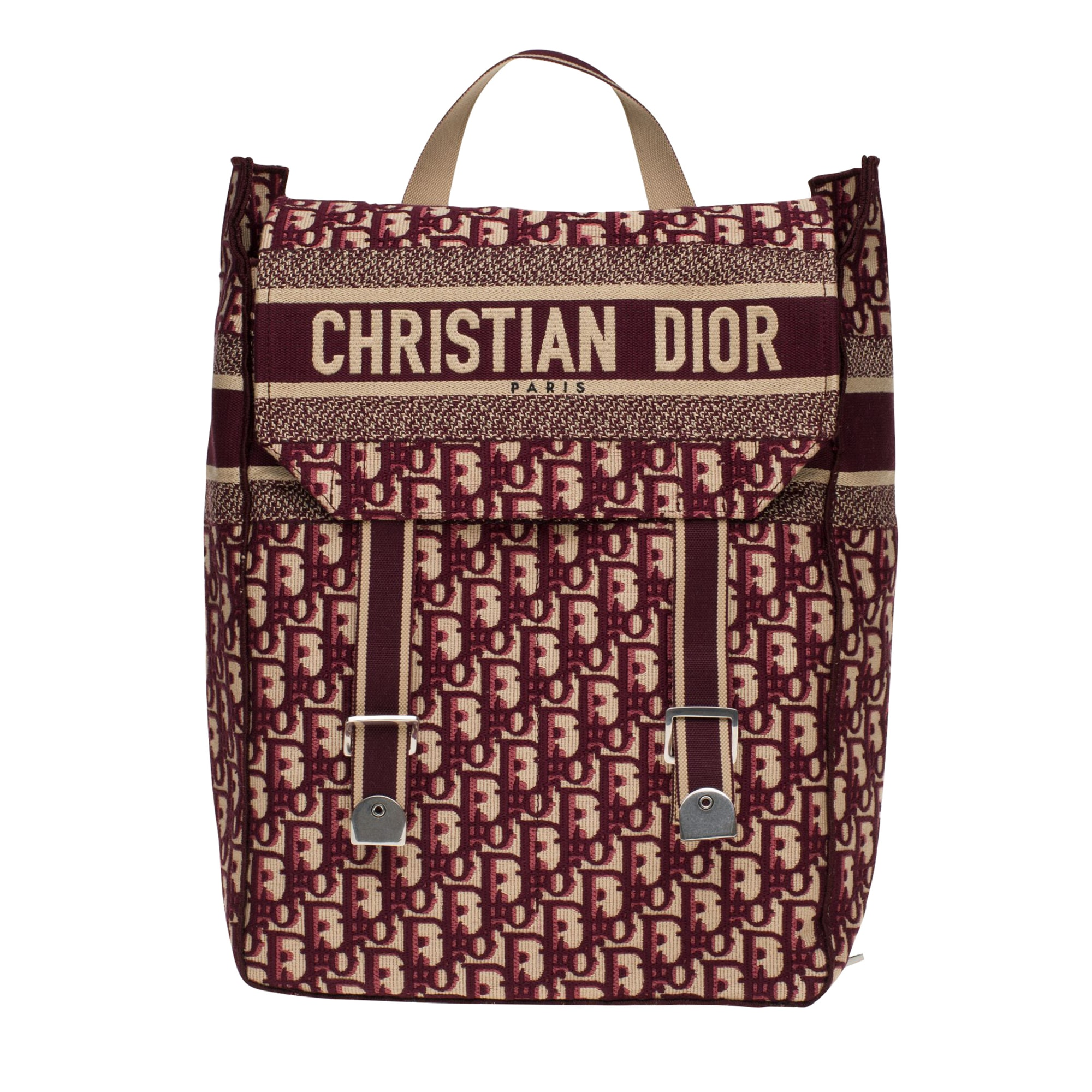 Backpack DIOR Red, burgundy