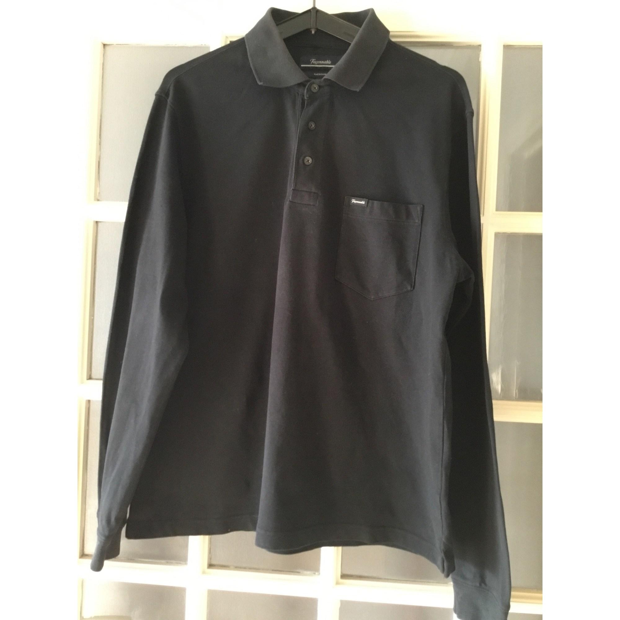 Polo FAÇONNABLE Noir