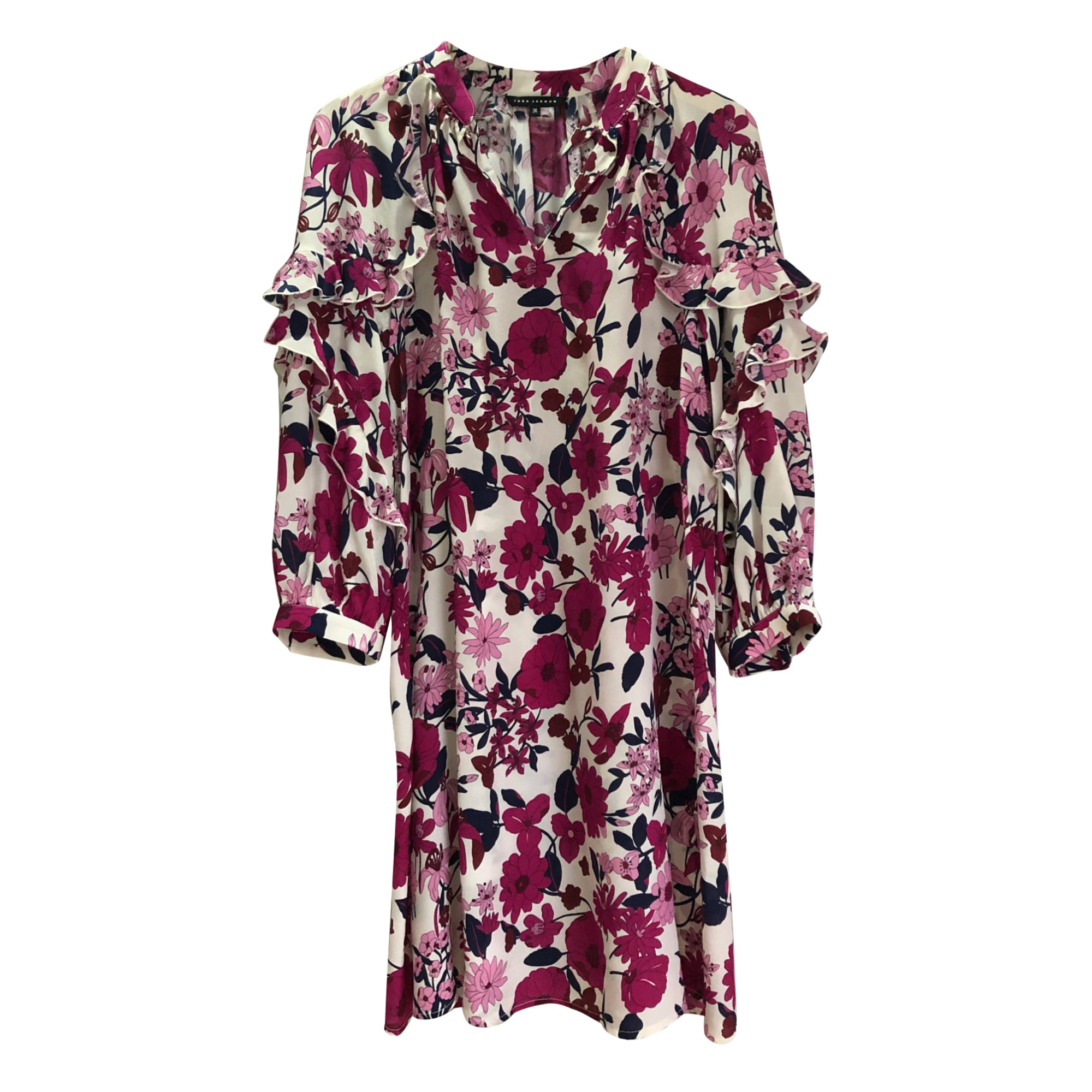 Robe courte TARA JARMON Rose, fuschia, vieux rose