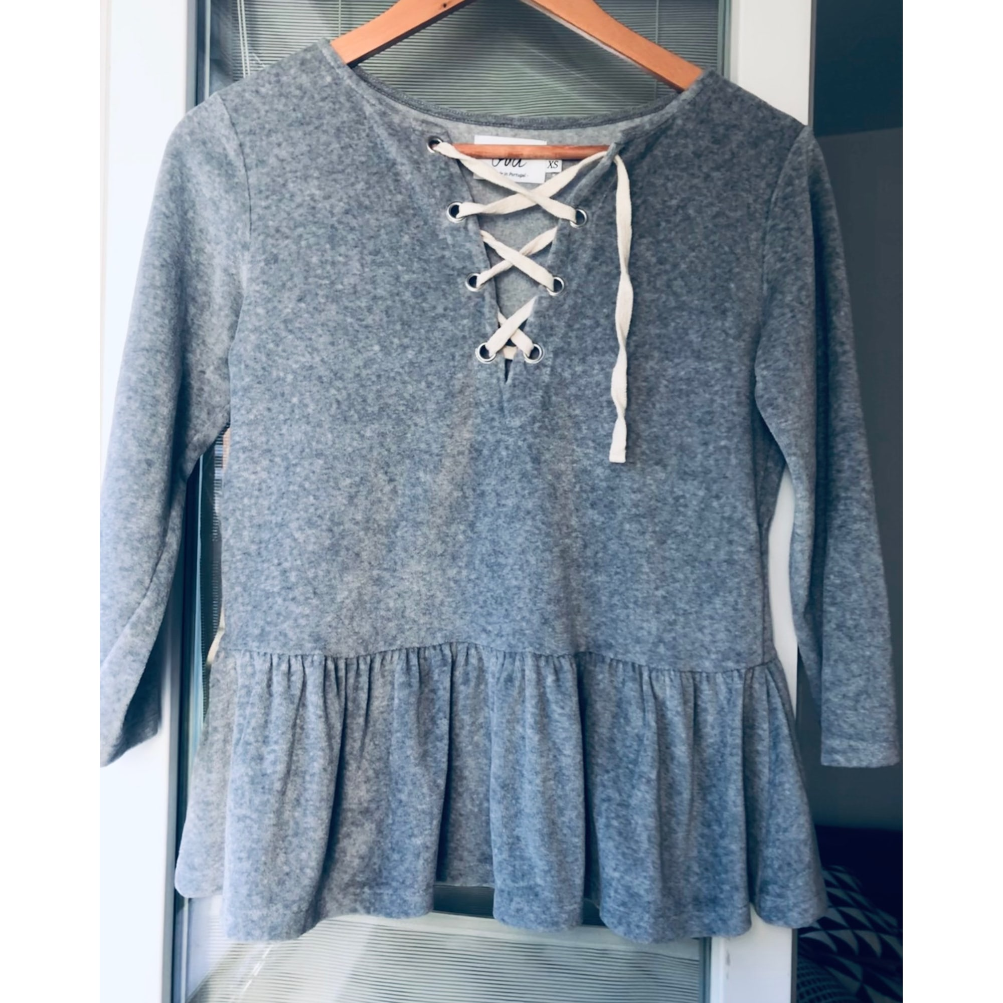 Blouse ORTA STORE Gris, anthracite
