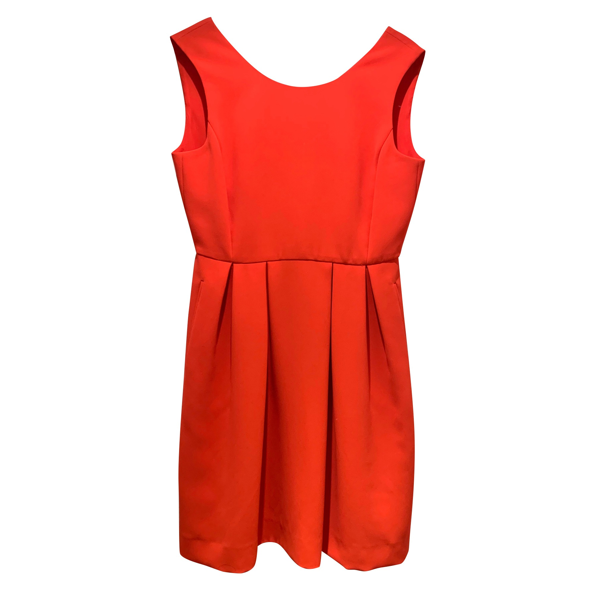 Robe mi-longue CLAUDIE PIERLOT Orange