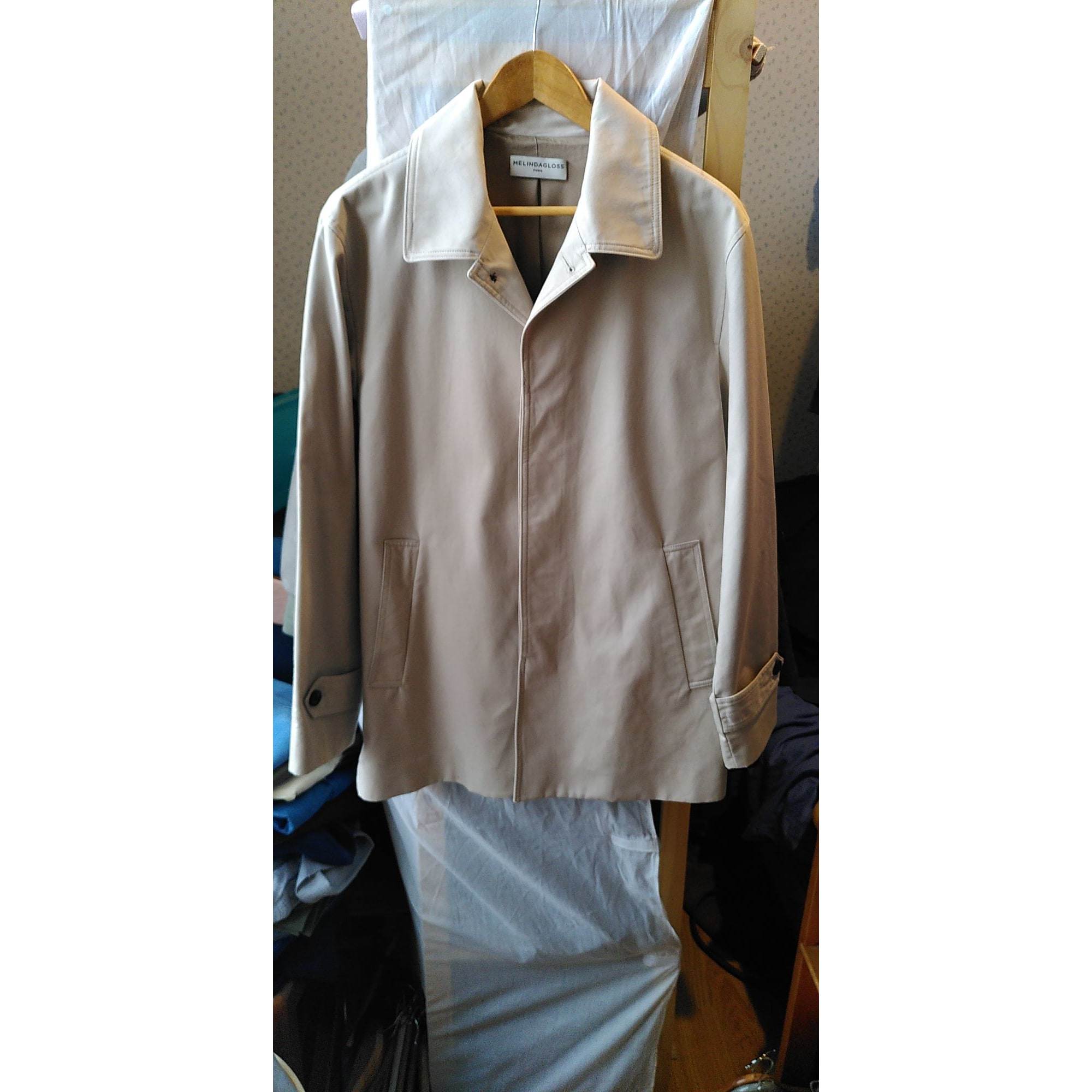 Imperméable, trench MELINDA GLOSS Beige, camel