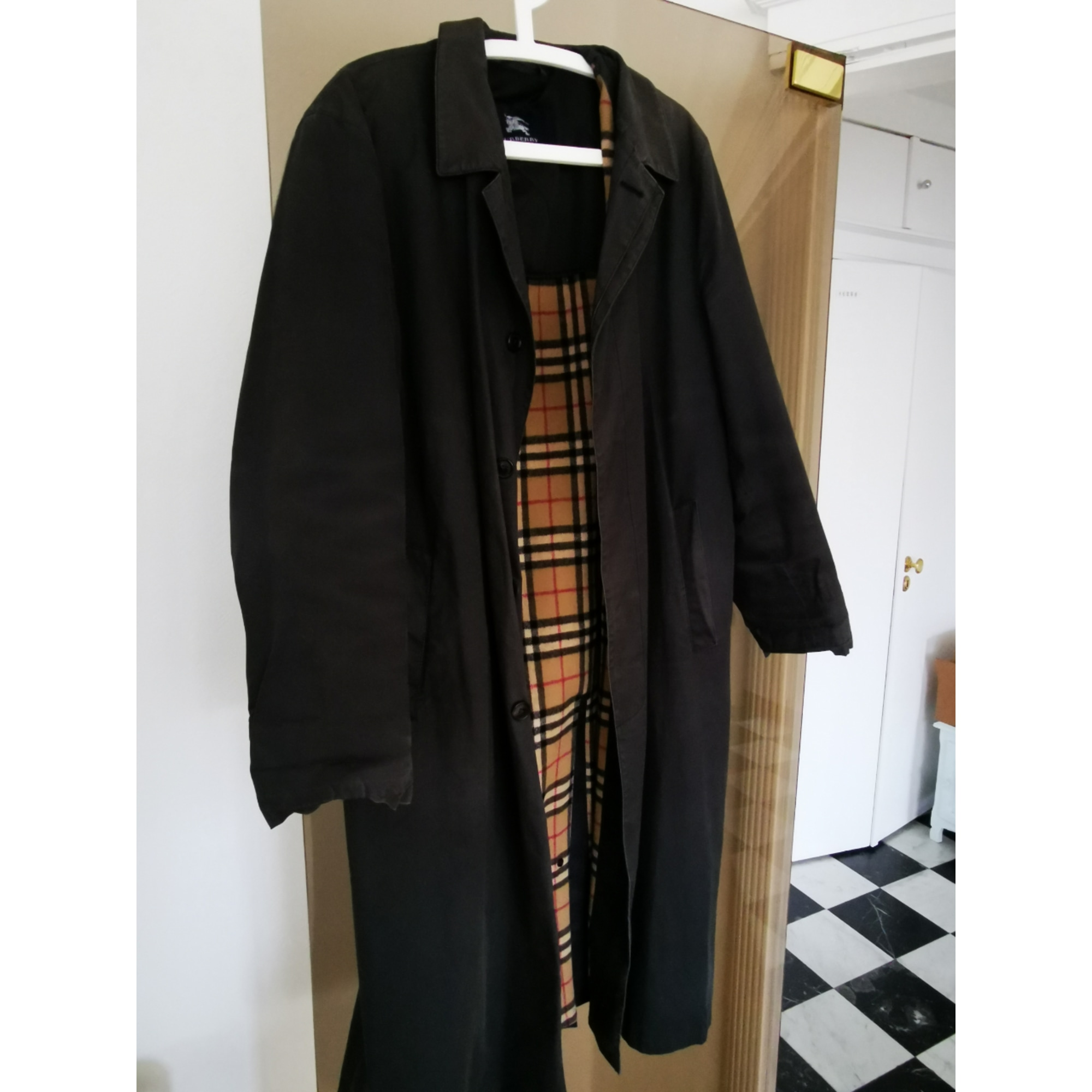 Imperméable, trench BURBERRY Noir