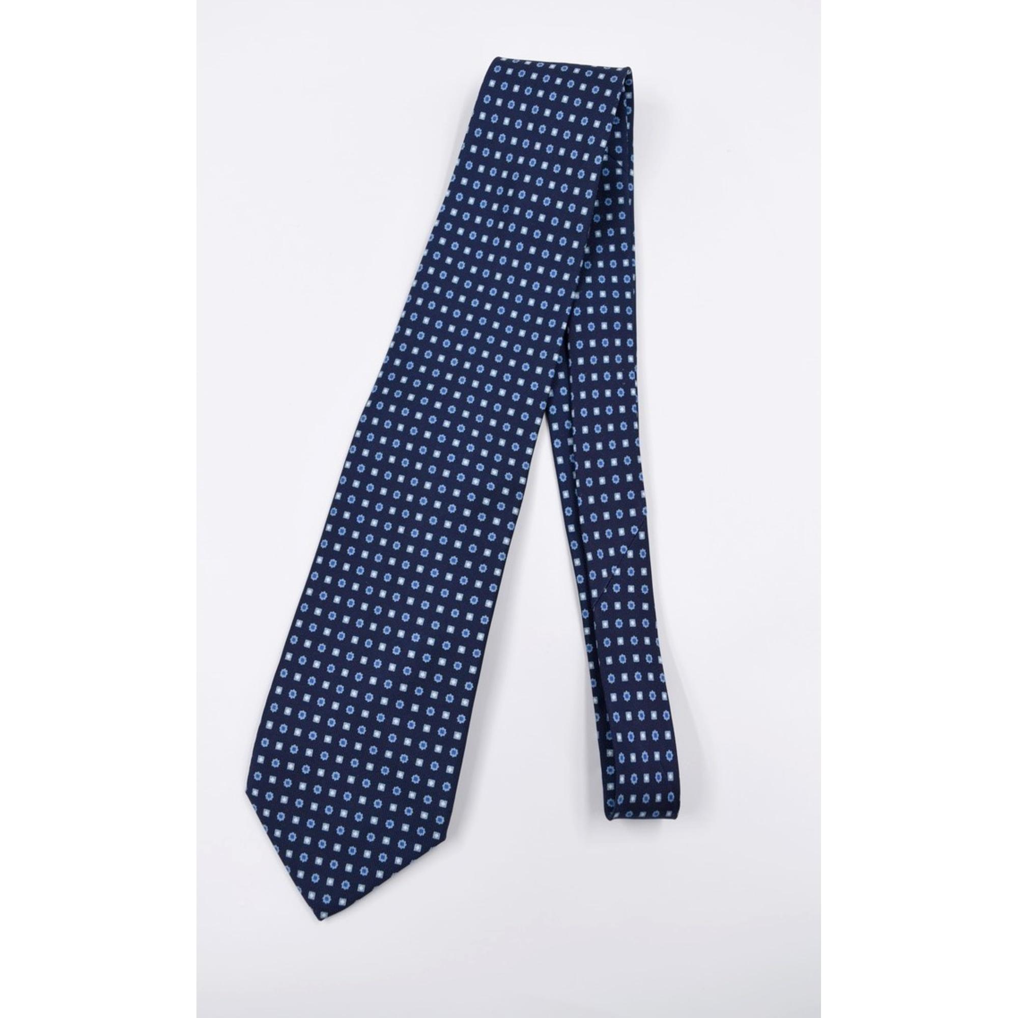 Cravate MARINELLA Bleu, bleu marine, bleu turquoise