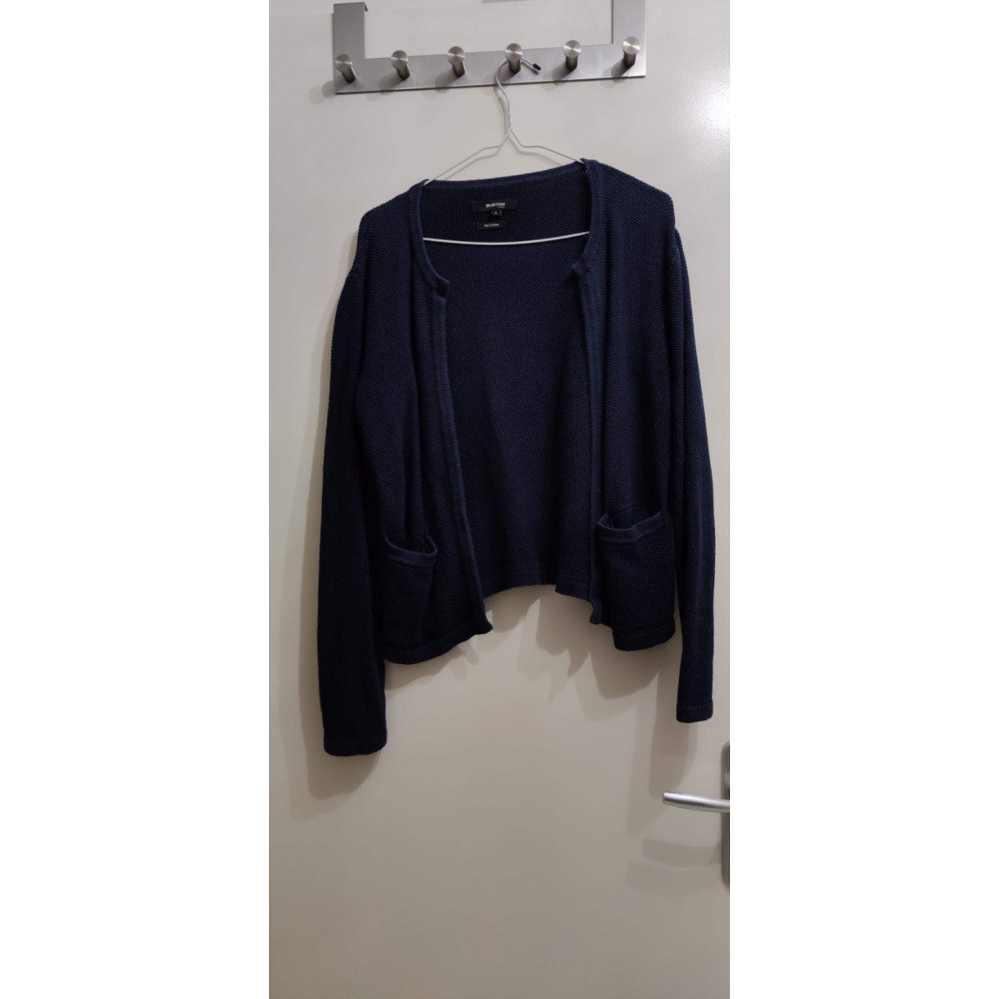 Gilet, cardigan BURTON Bleu, bleu marine, bleu turquoise