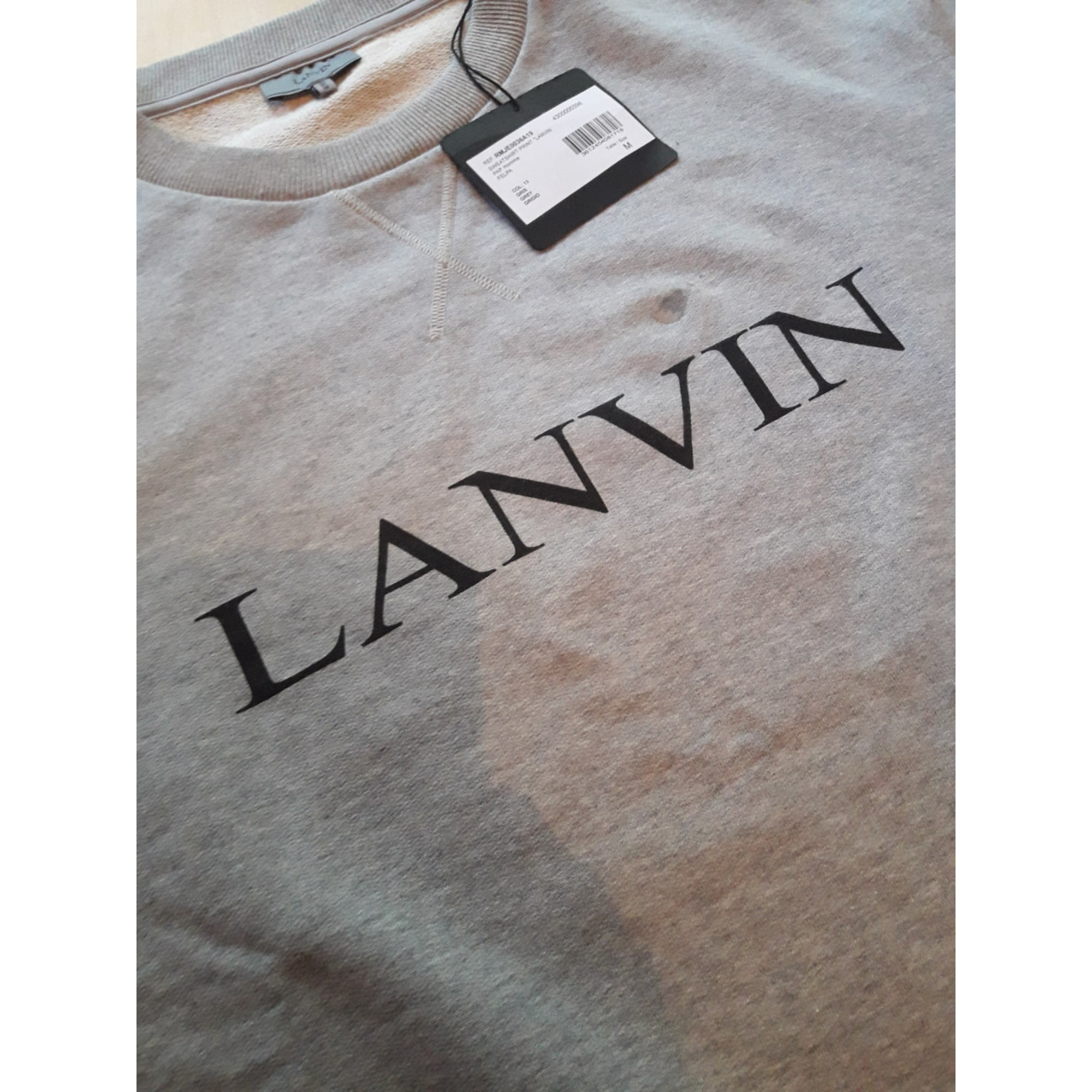 Sweat LANVIN Gris, anthracite