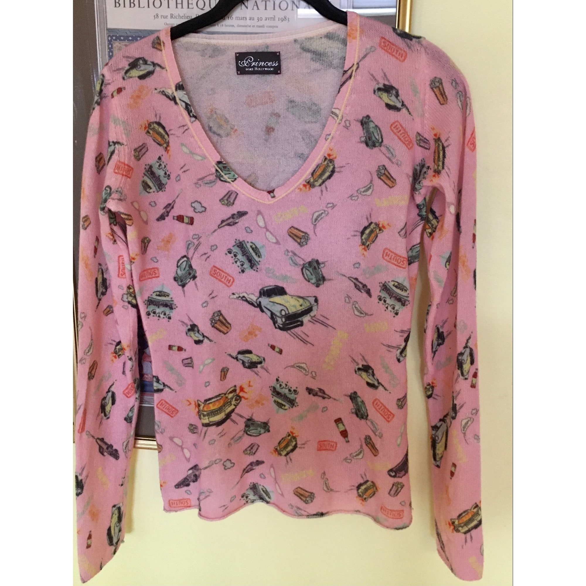 Pull PRINCESS GOES HOLLYWOOD Rose, fuschia, vieux rose